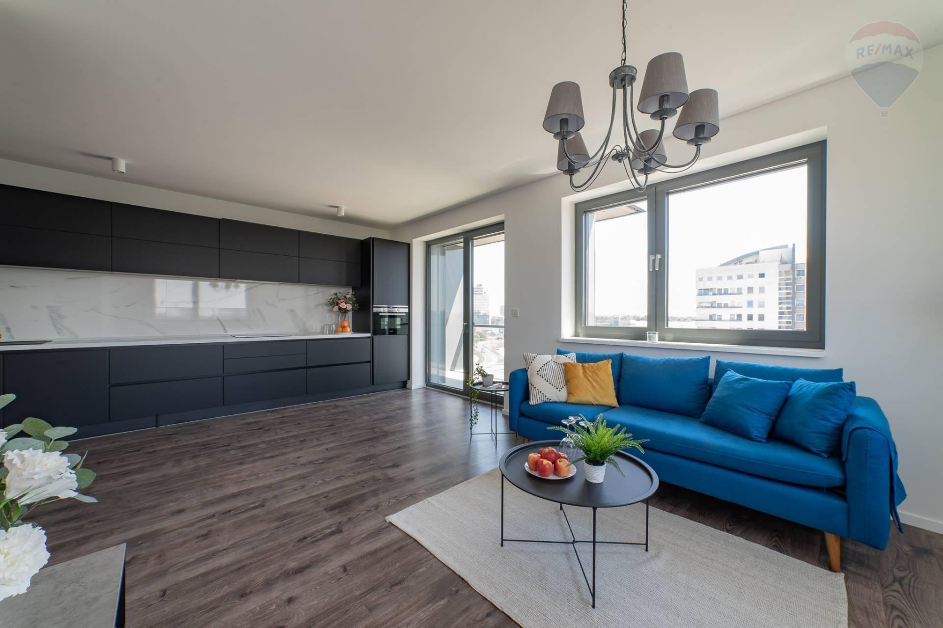PRENÁJOM >> 2 izbový byt – novostavba EINPARK  –  Zadunajská cesta 16