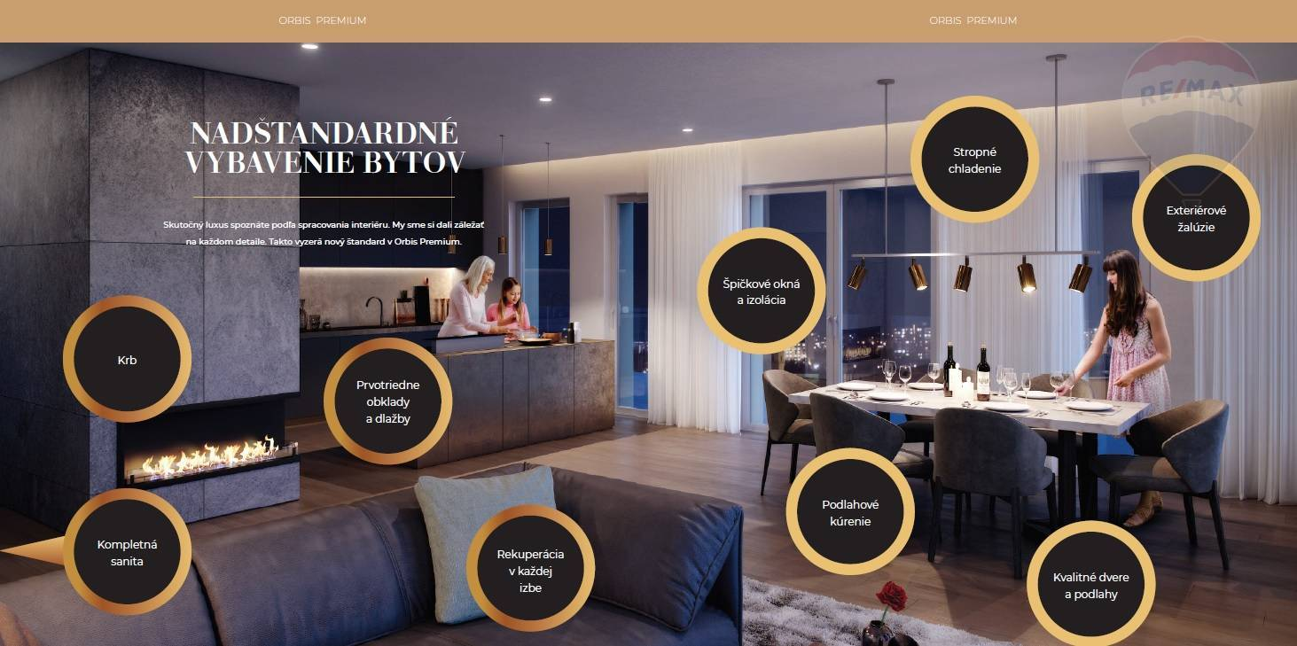 Predaj bytu (5 izbový a väčší) 365 m2, Nitra - predaj 5 izbový byt ORBIS Premium Nitra