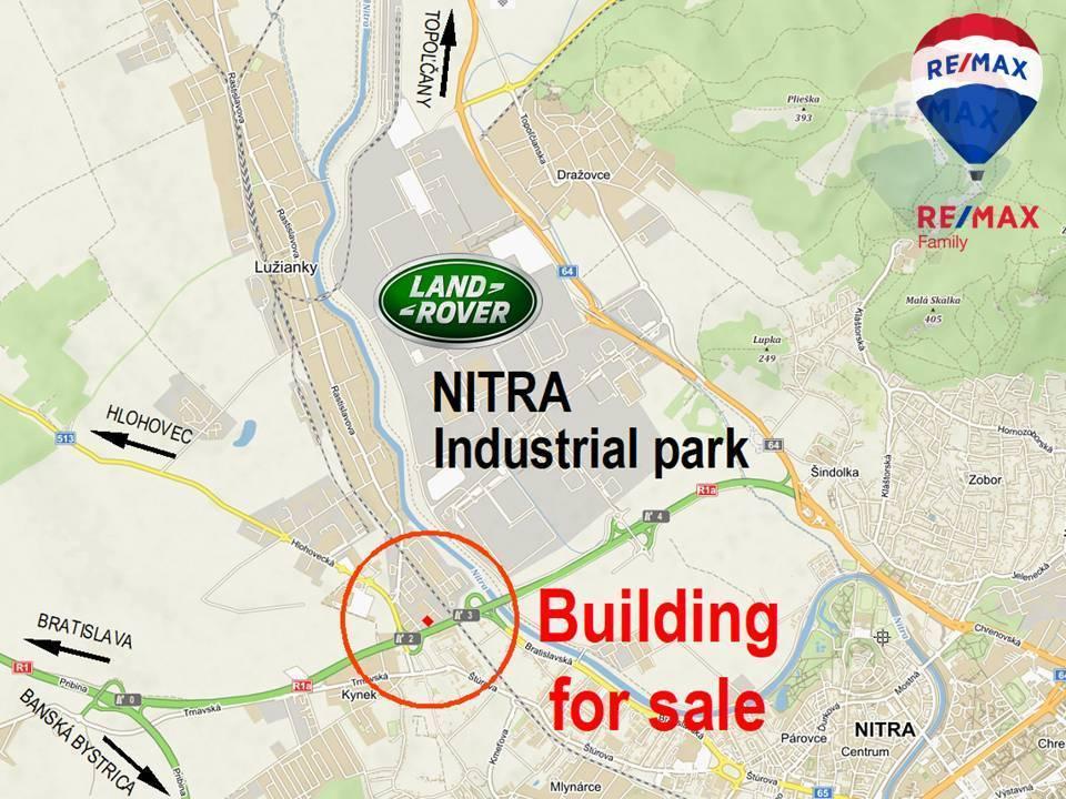 """Predaj budovy v Nitre s možnosťou prestavby na ubytovňu. """"EXKLUZÍVNE"""""""