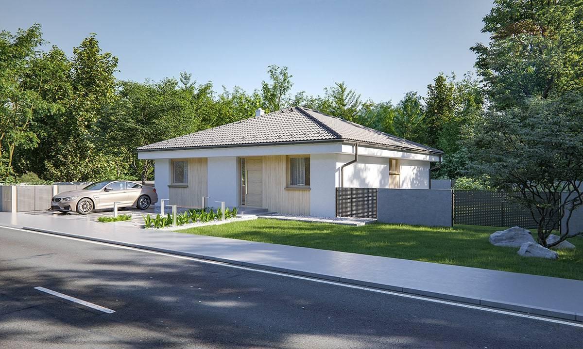 Predaj 4 izbový rodinný dom Ivánka pri Nitre vo výstavbe