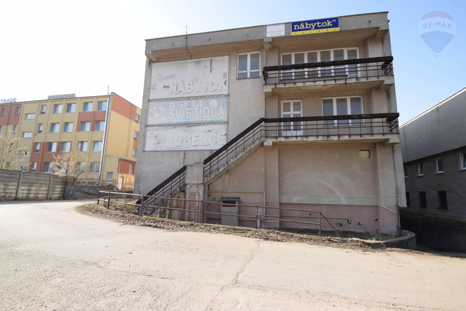 Predaj komerčného objektu 3028 m2, Nitra - predaj budova výroby Nitra
