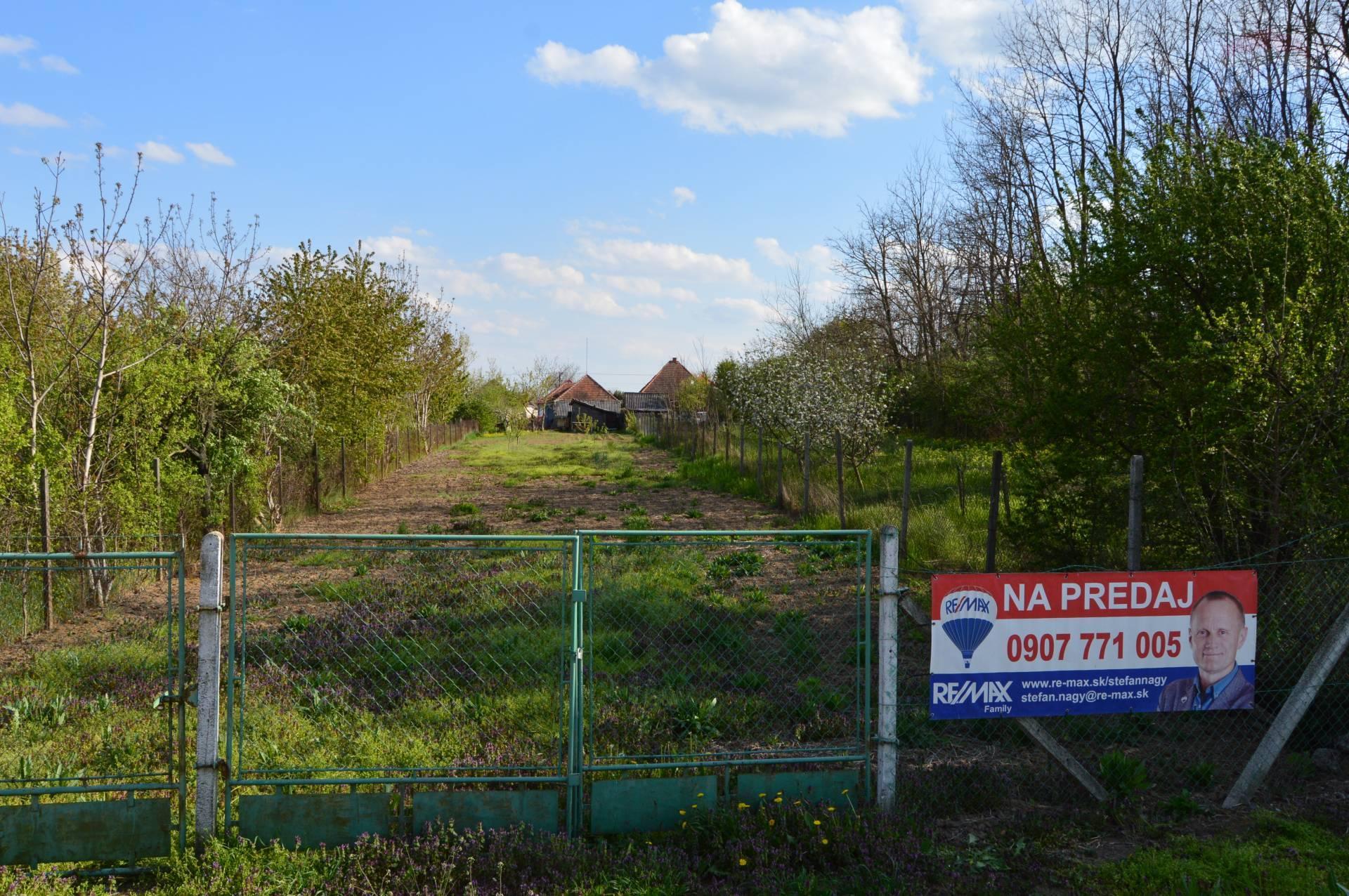 Predaj stavebný pozemok Veľké Chyndice EXKLUZÍVNE