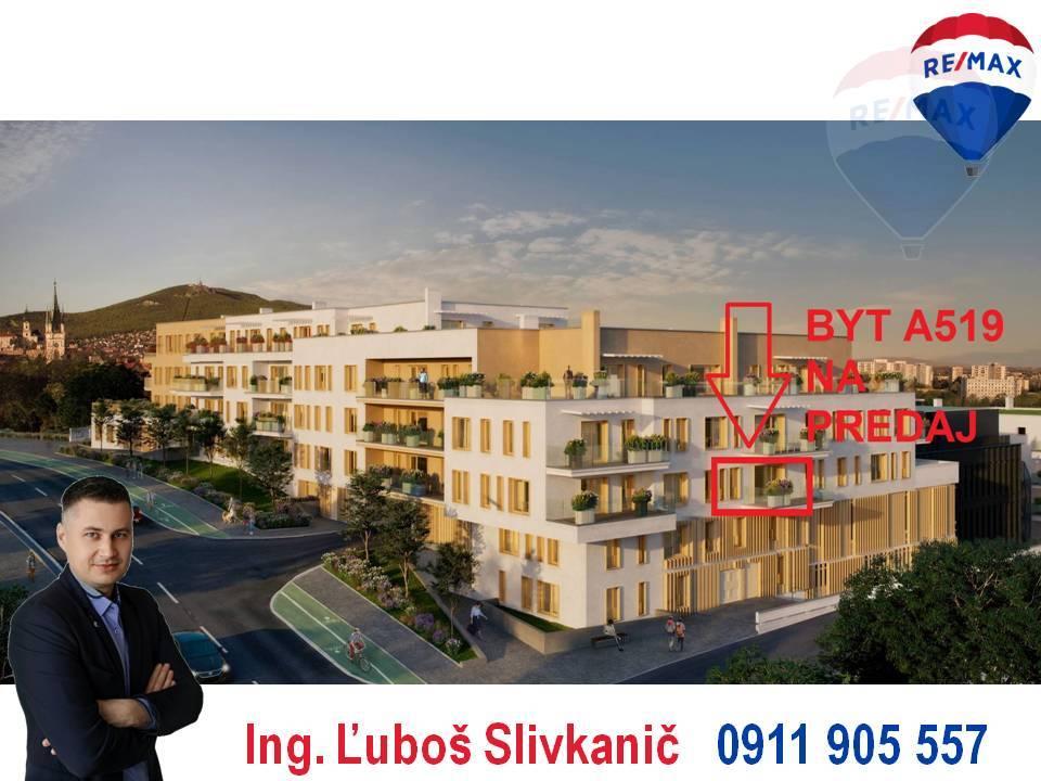 Predaj 2-izbový byt s balkónom, Nitra - centrum.