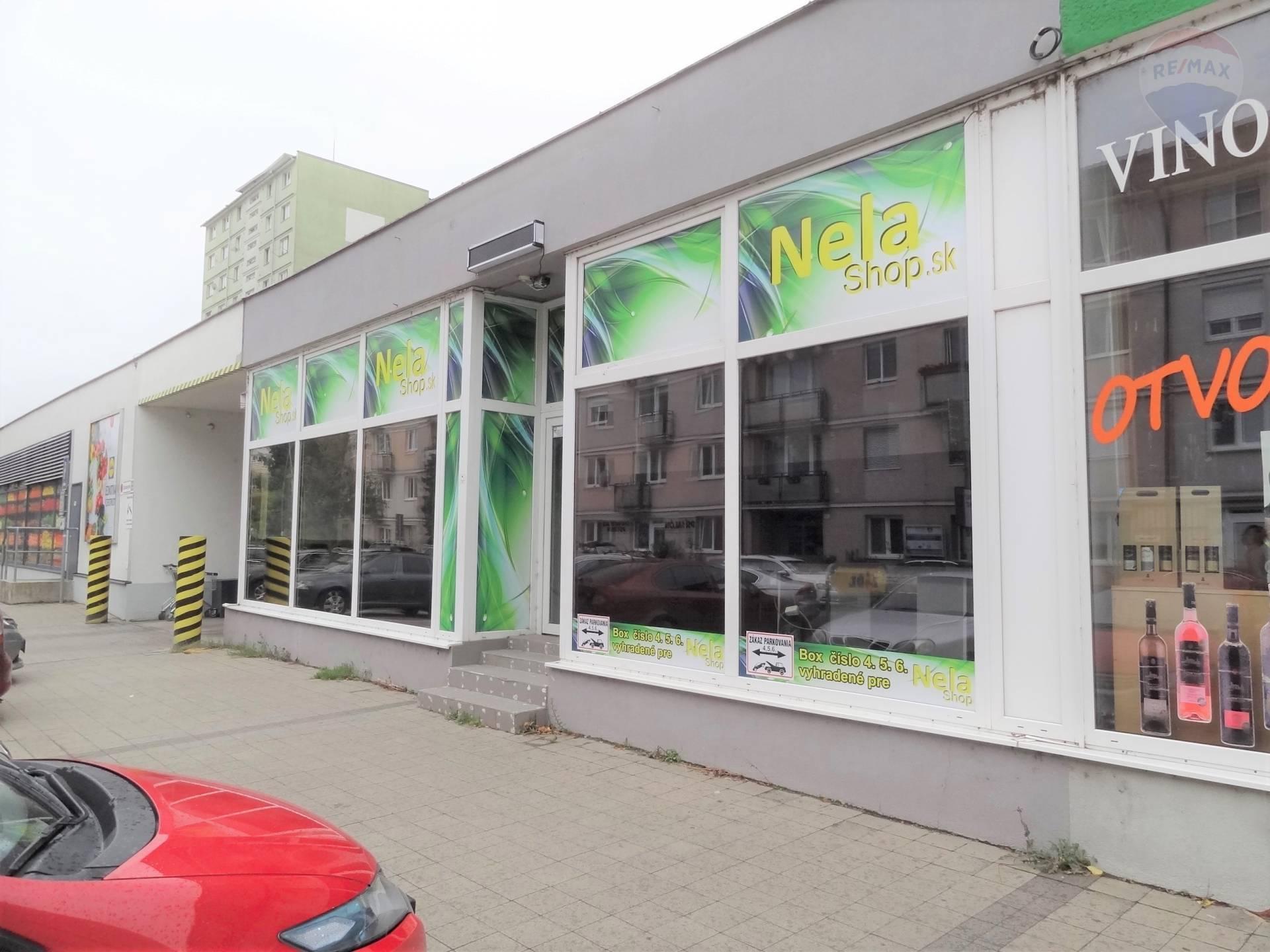 Prenájom obchodné priestory, 172 m2, Párovce, Nitra