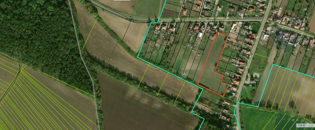 Predaj veľkého pozemku, Nitra, Cabaj