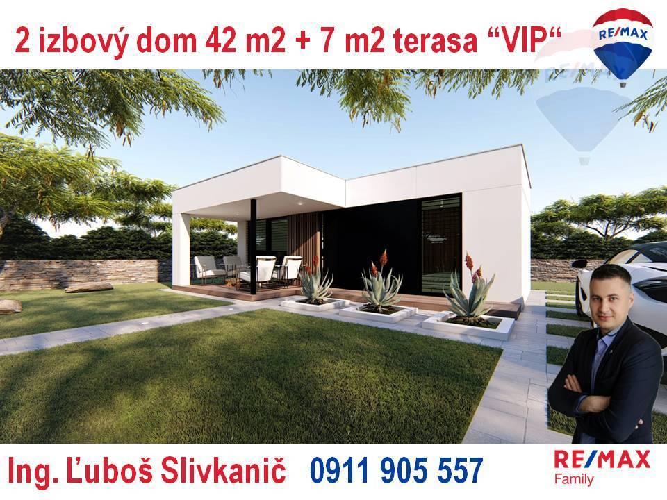 Predaj 2-izbový modulový dom Nitra - Red Oak Golf.