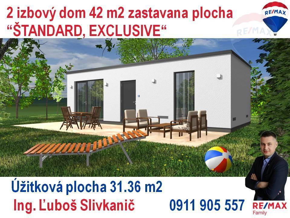 Predaj 2-izbový modulový dom