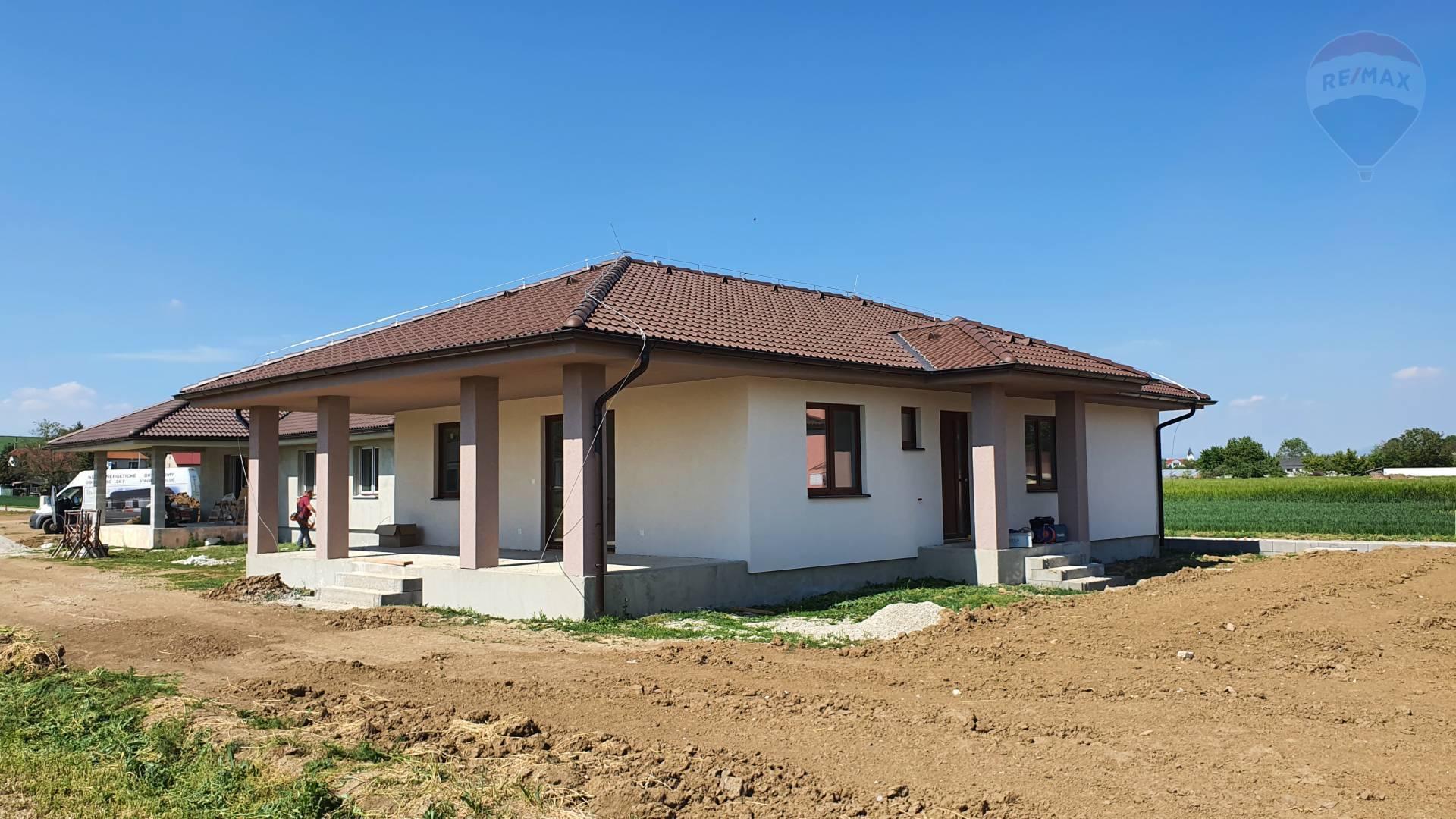 PREDÁM - novostavba rodinný dom CHRABRANY