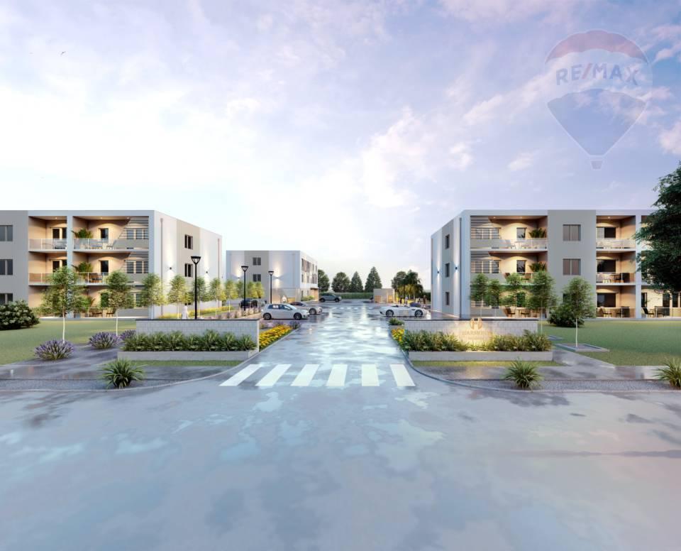 Predaj 3 izbových bytov v Dunajskej Strede, Poľná cesta, novostavba, uzavretý dvor, parkovanie