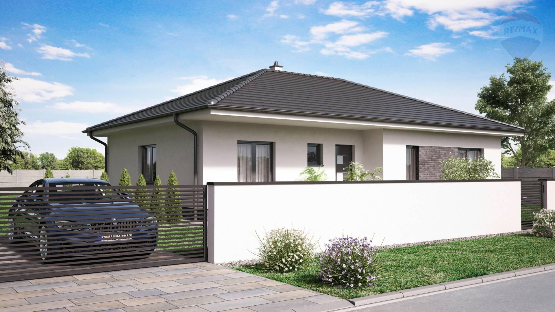 rezervovaný: 4 izbový rodinný dom, Baka