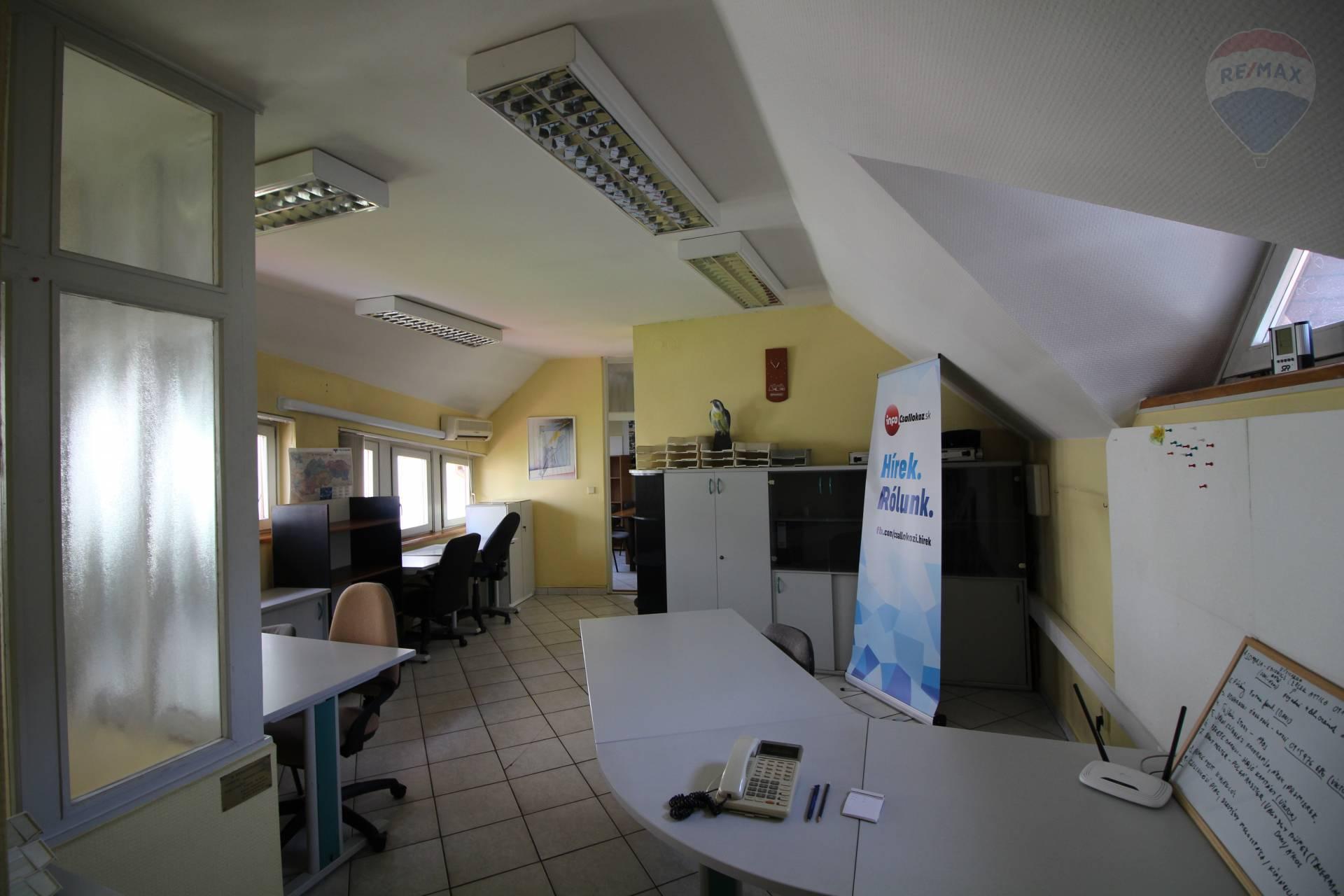 Prenájom: Kancelárske priestory, Hlavná ulica, Dunajská Streda