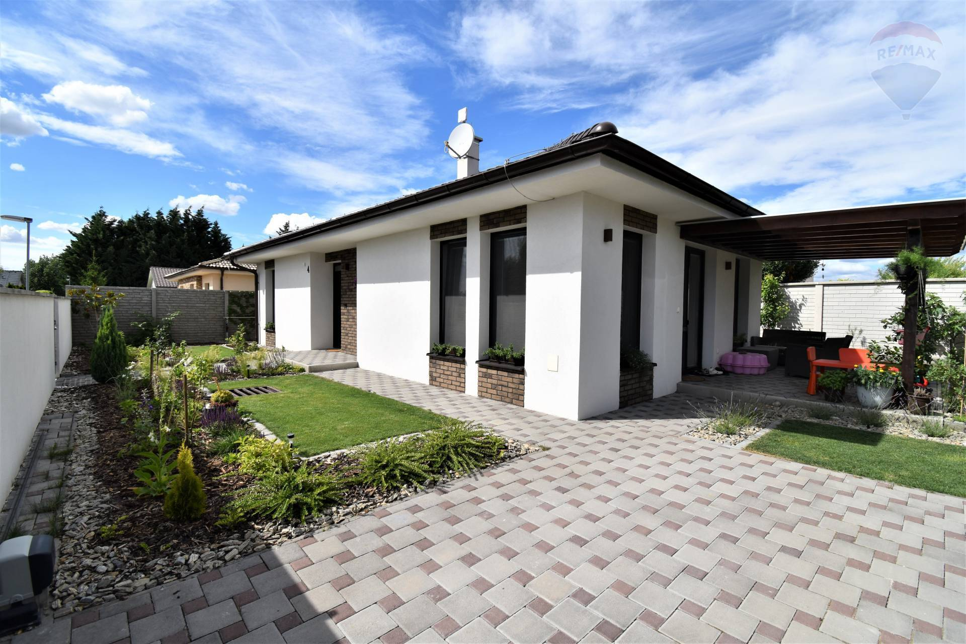 REZERVÁCIA! Predaj 3 izbového rodinného domu, Dunajská Streda, novostavba, pozemok 380 m2