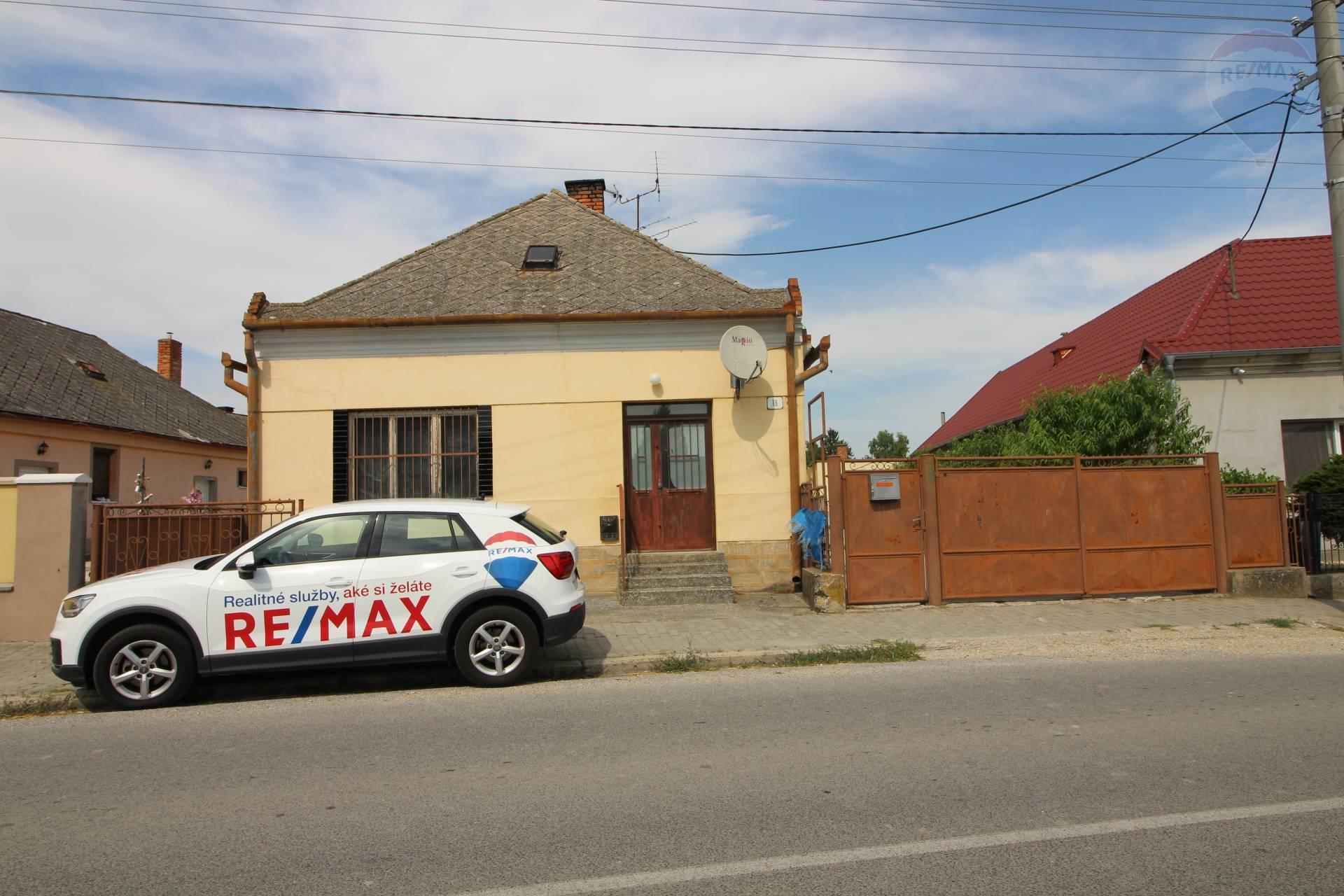 Predaj: 4-izbový rodinný dom, pôvodný stav, Pataš, okres Dunajská Streda