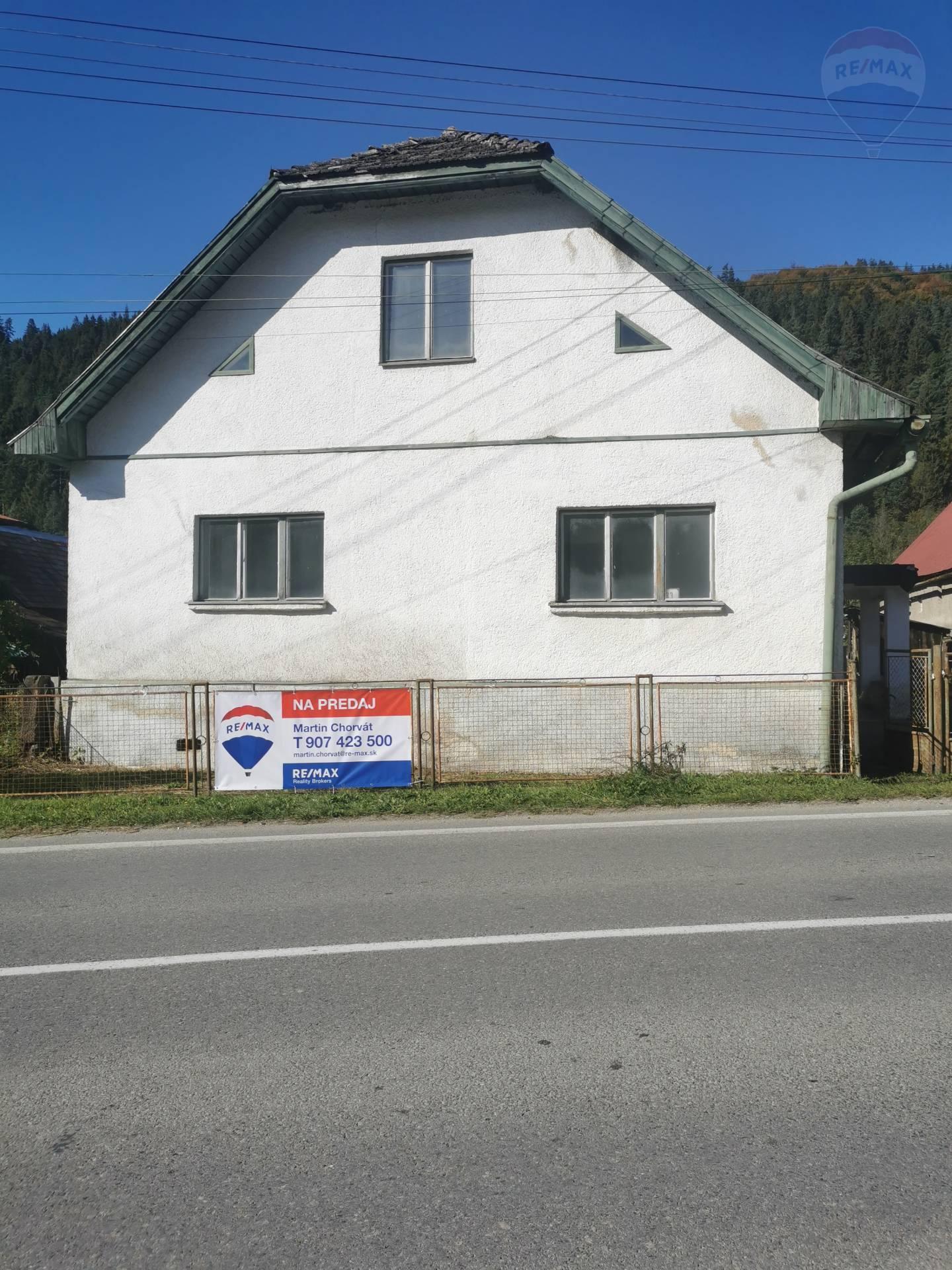 Predaj dom v Oravskom Bielom Potoku