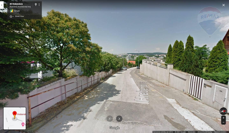 Pozemok - Hrebendova ulica - Staré Mesto
