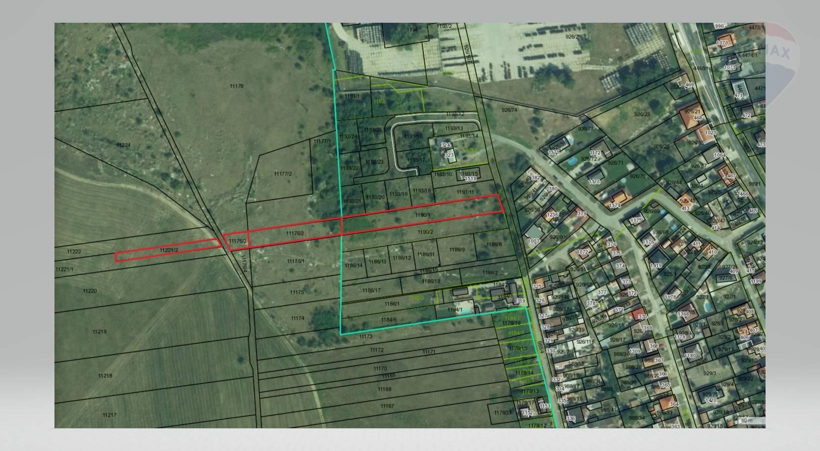 Predaj pozemkov pre výstavbu rodinných domov, Veľké Leváre