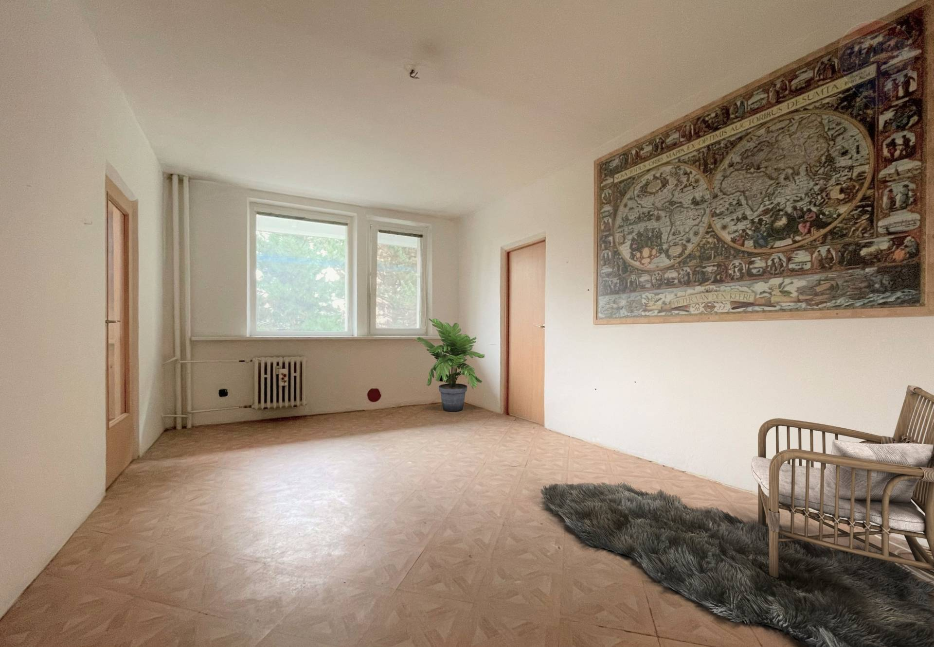 3 izbový byt v zelenej časti Karlovej Vsi