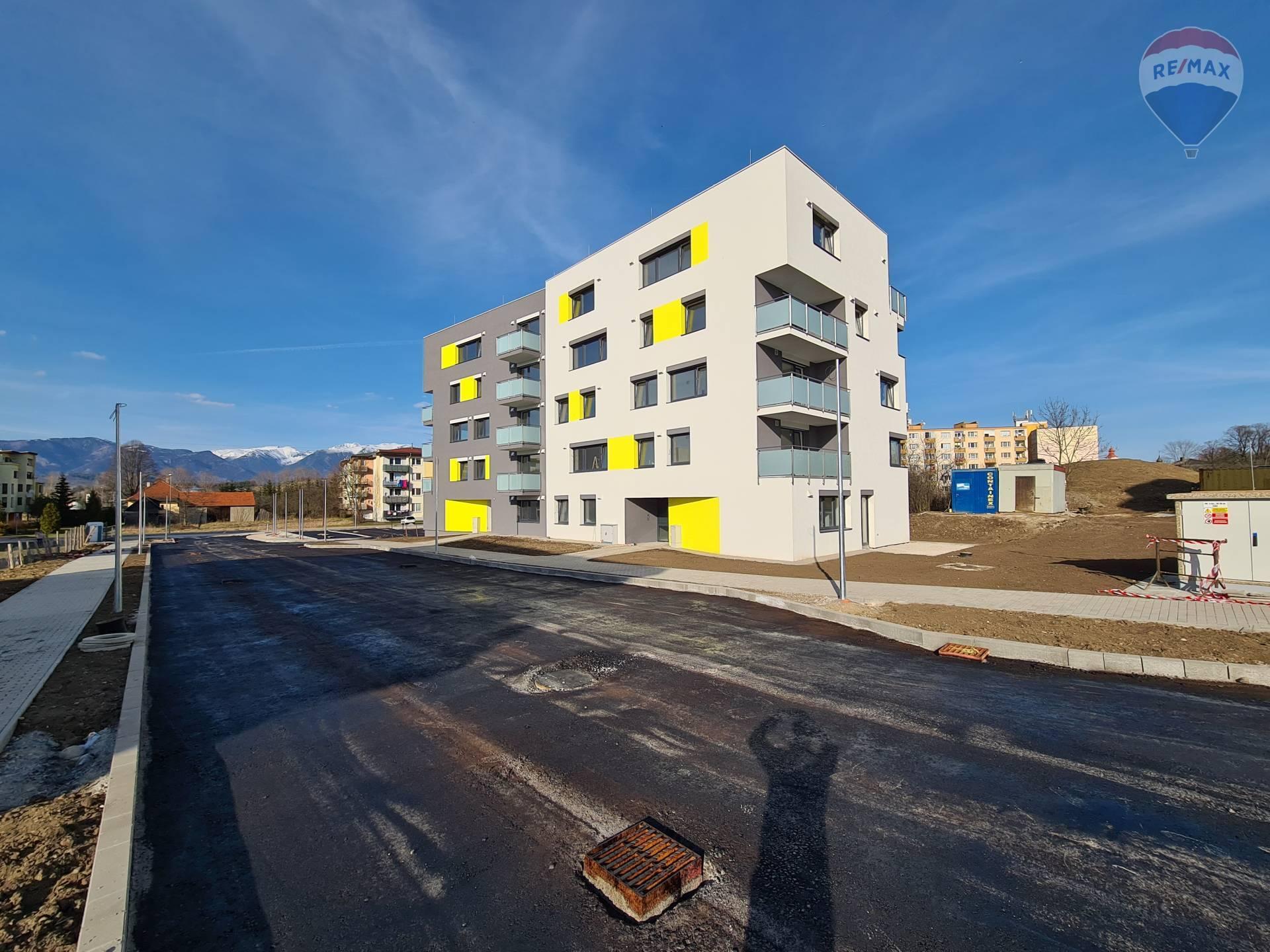 Na predaj 3 izbový byt E3-D v novostavbe v Liptovskom Mikuláši - Palúdzka