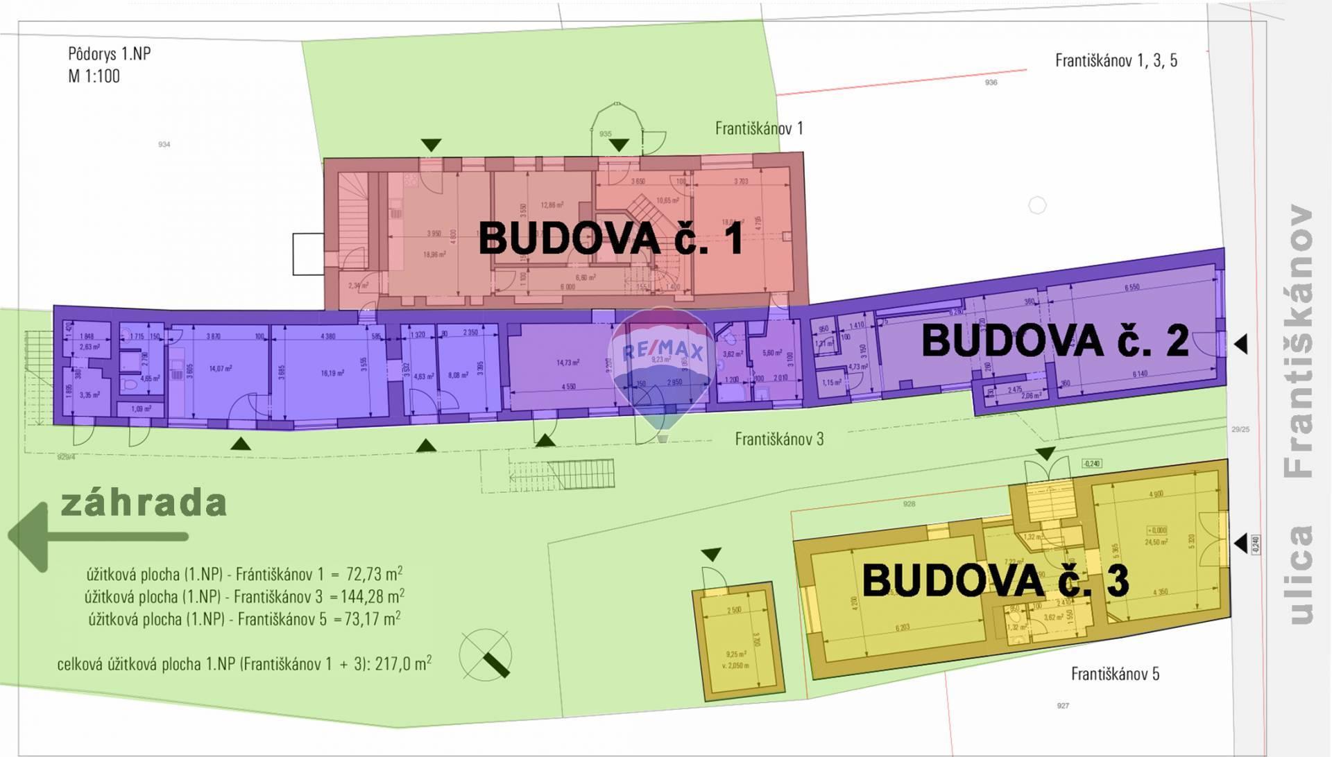 Predaj penziónu 652 m2, Komárno - Apartmánový dom v centre mesta - investičná príležitosť