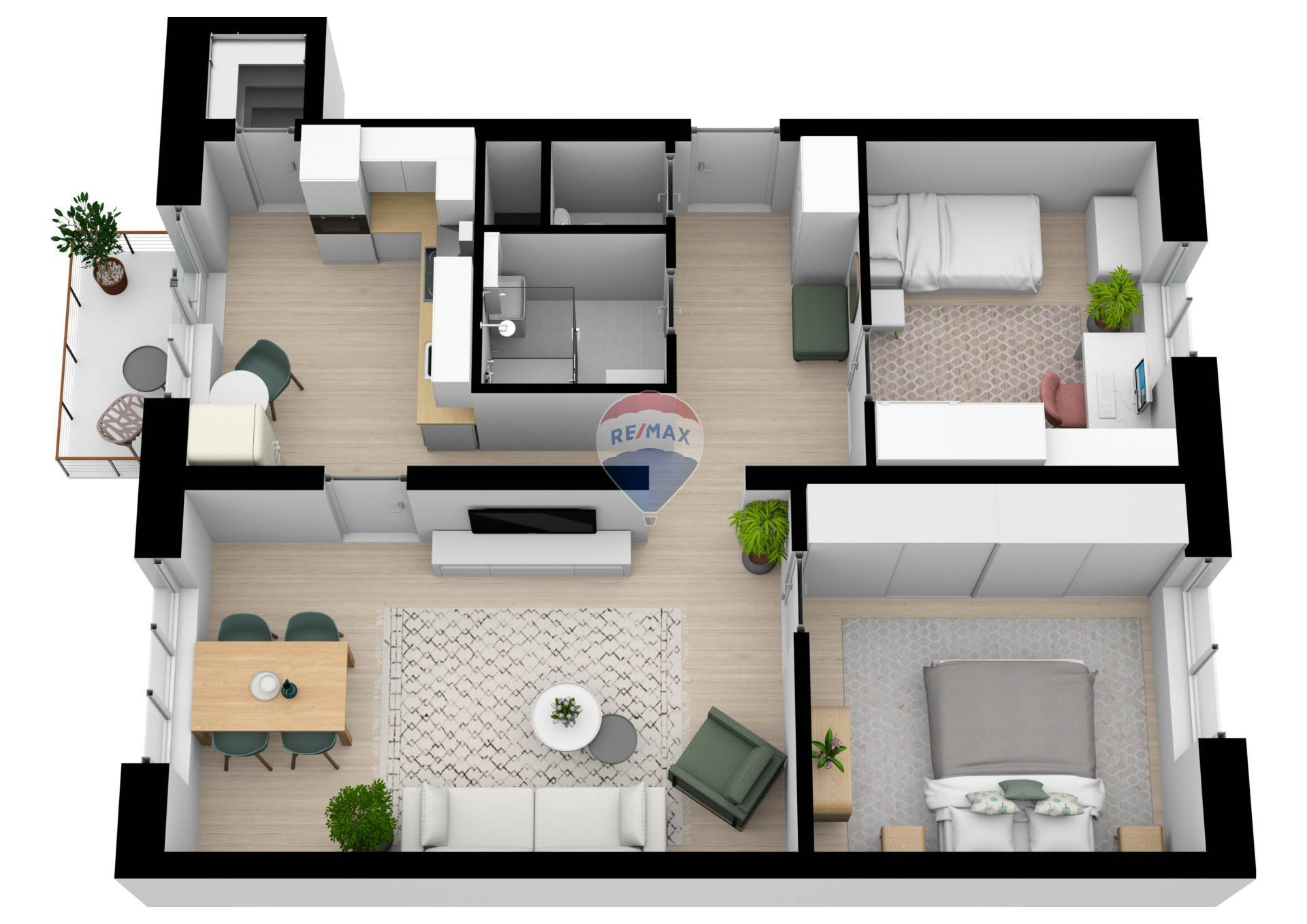 REZERVOVANÝ-3 izbový byt na predaj Bratislava Trnávka s garážou