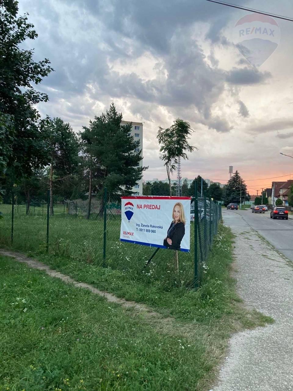 Pozemok o výmere cca 500 m2 v širšom centre mesta PRIEVIDZA