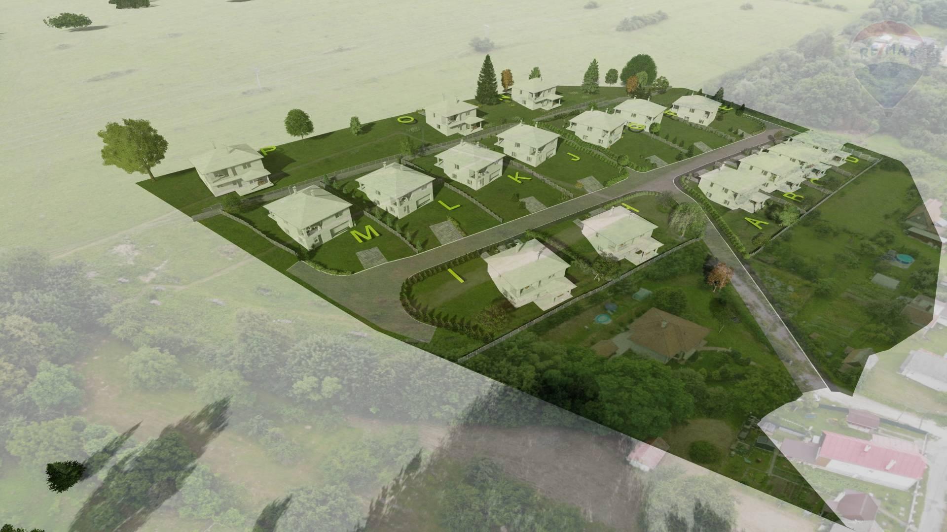 IDEÁLNA PRÍLEŽITOSŤ! Stavebné pozemky pre rodinné domy a komfortné bývanie.
