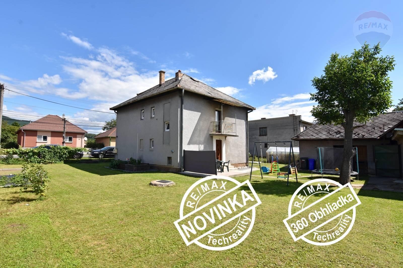 REZERVOVANÉ !!!!   Rodinný dom 5-izbový 150m2 ,GARÁŽ ,letná kuchynka,  pozemok 720m2  Mýtna