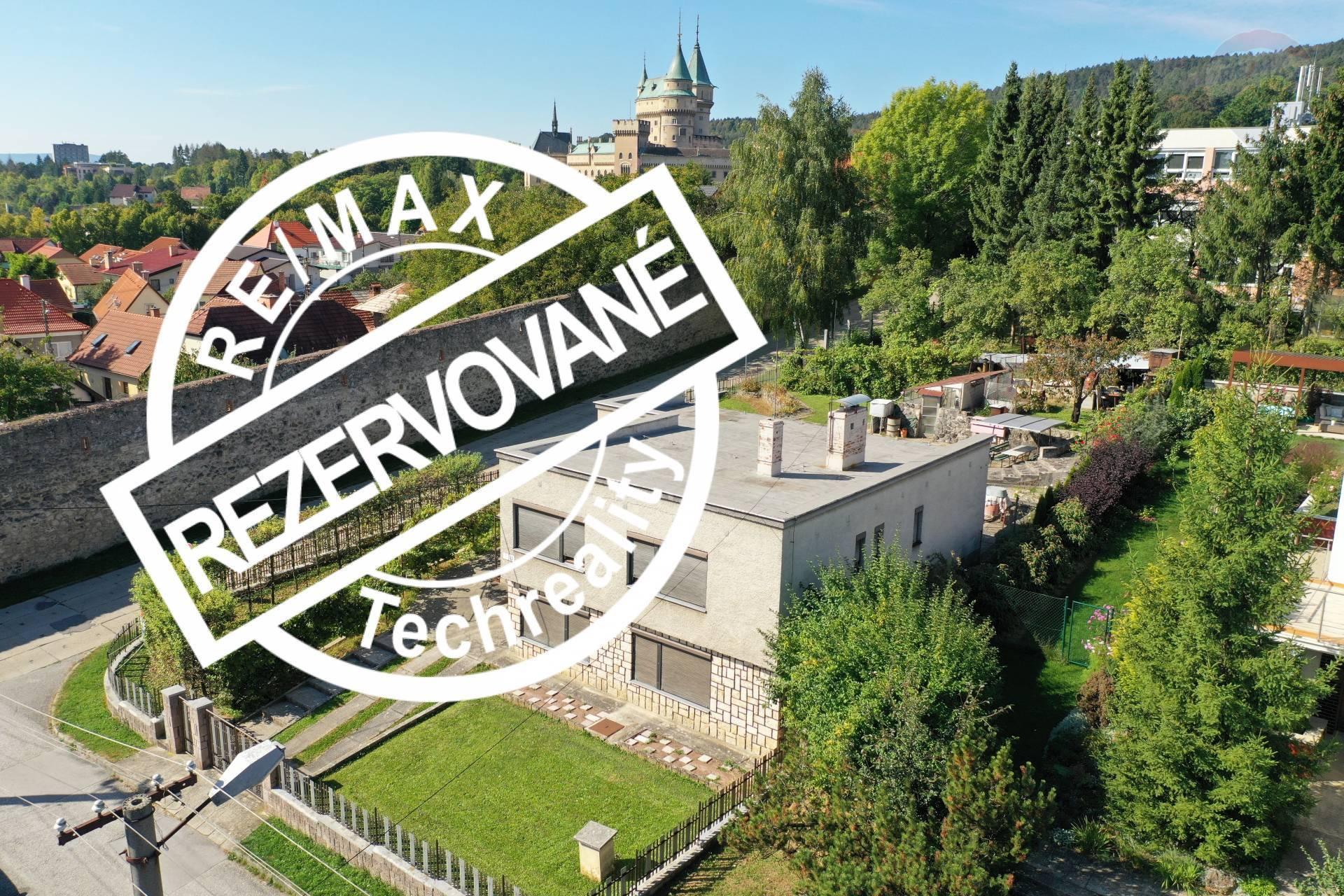 REZERVOVANÉ !!!  PREDAJ Rodinný dom s pozemkom 919 m2 v Bojniciach  okr. Prievidza