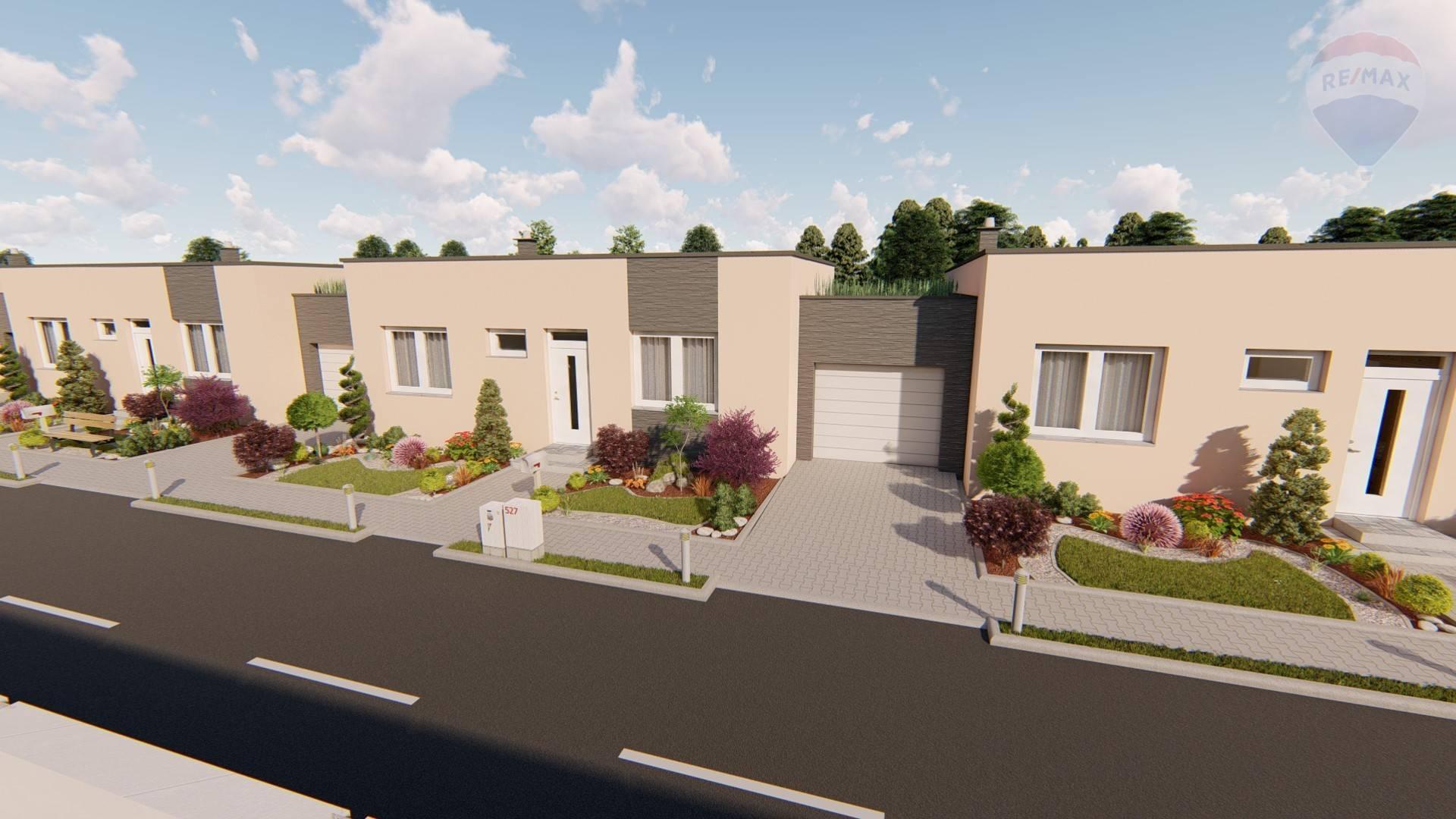 4-izbové rodinné domy na Predmestí v Skalici