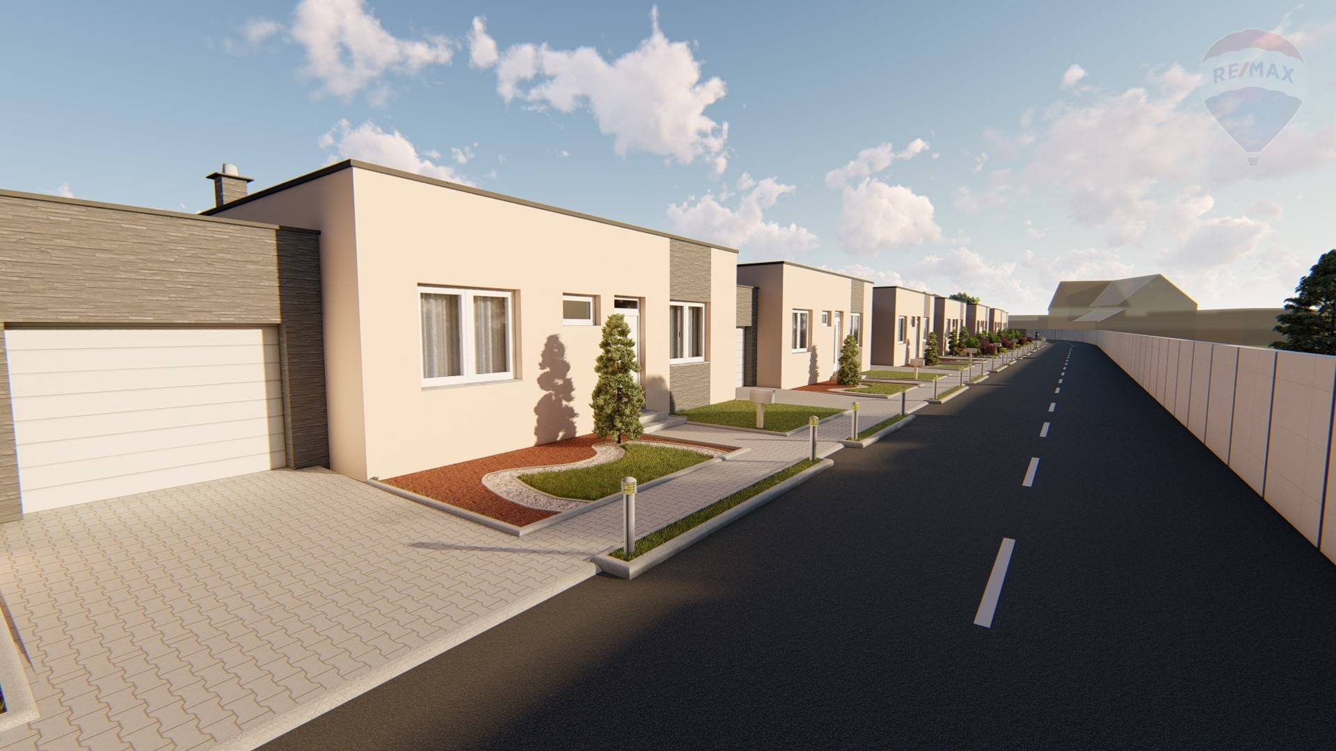 4-izb. rodinné domy na Predmestí v Skalici