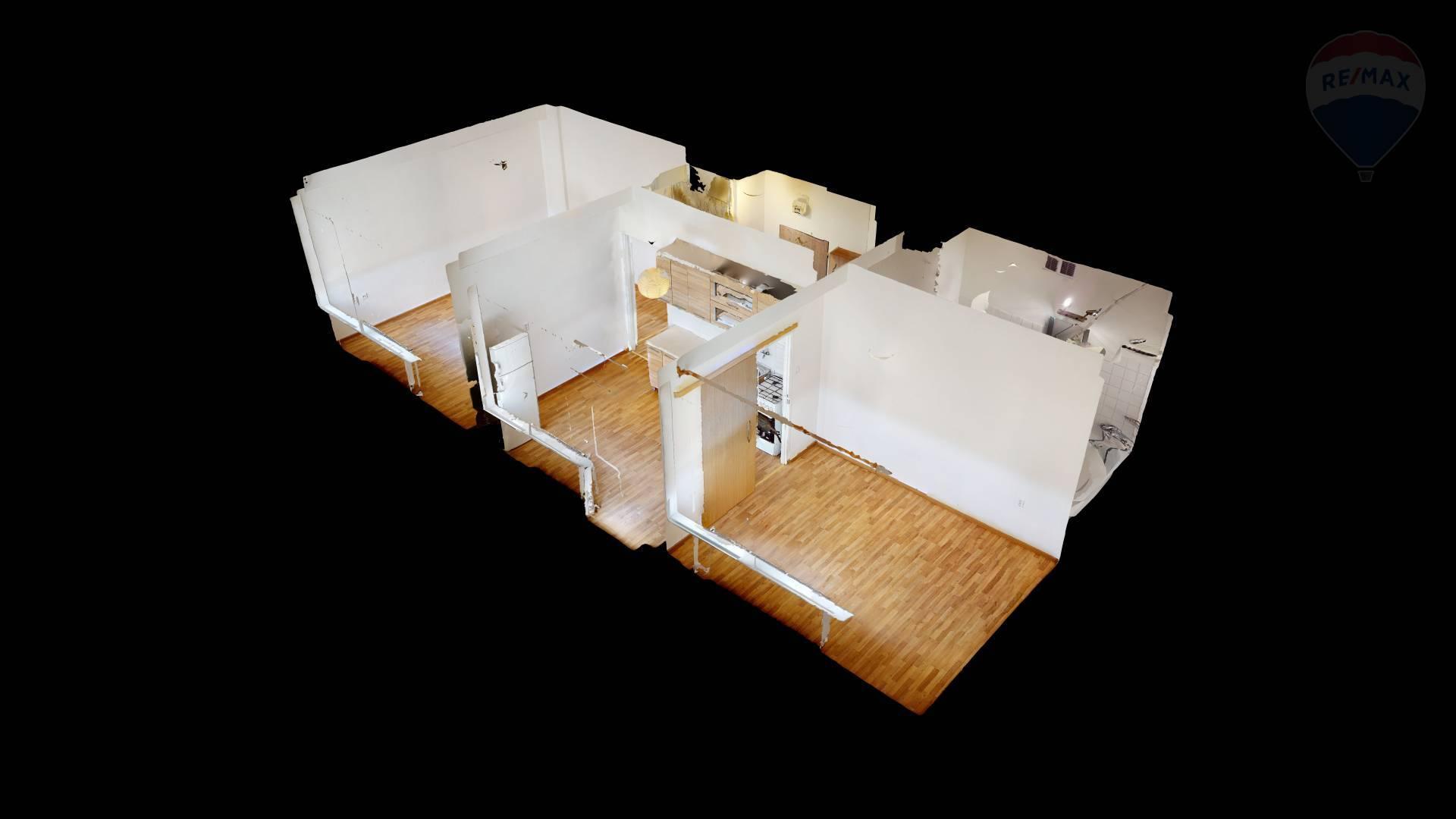 Na predaj: 2 izbový byt v Malackách