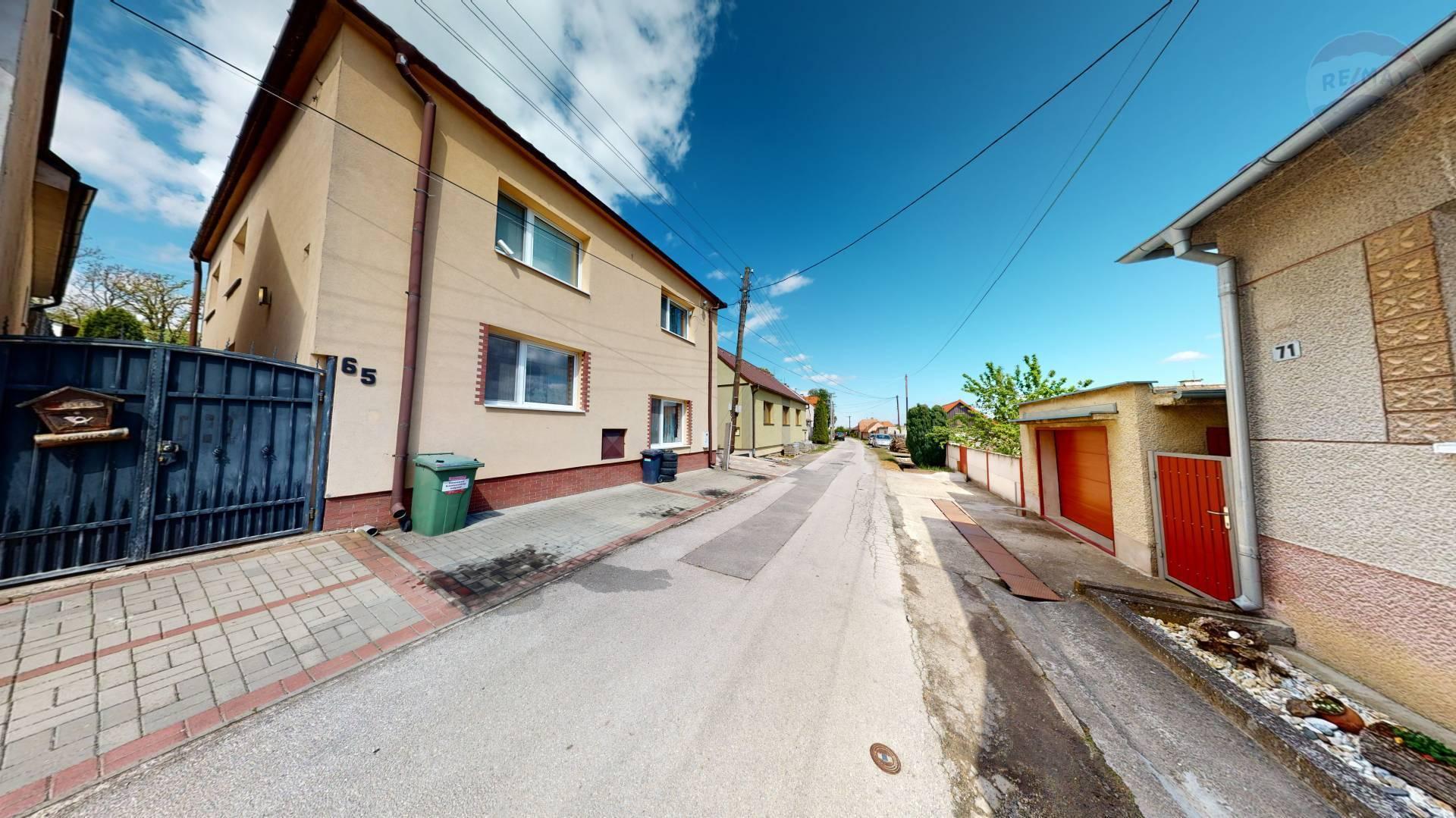 Predaj rodinného domu v obci Petrova Ves - okres Skalica