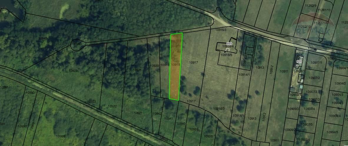 predaj pozemku 1284m2