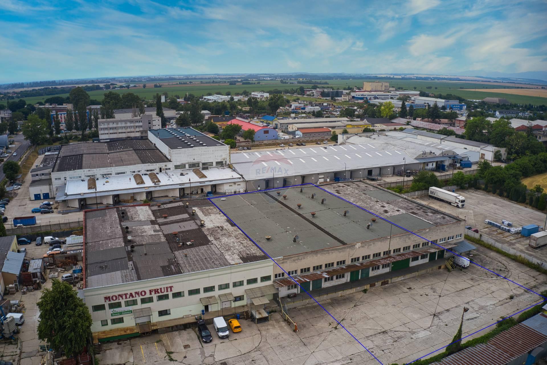 Prenájom komerčného priestoru 2000 m2, Trnava -