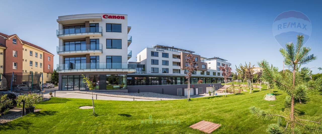 Na prenájom nebytový priestor na prízemí 150 m2, New Gardens, Bratislava - Ružinov