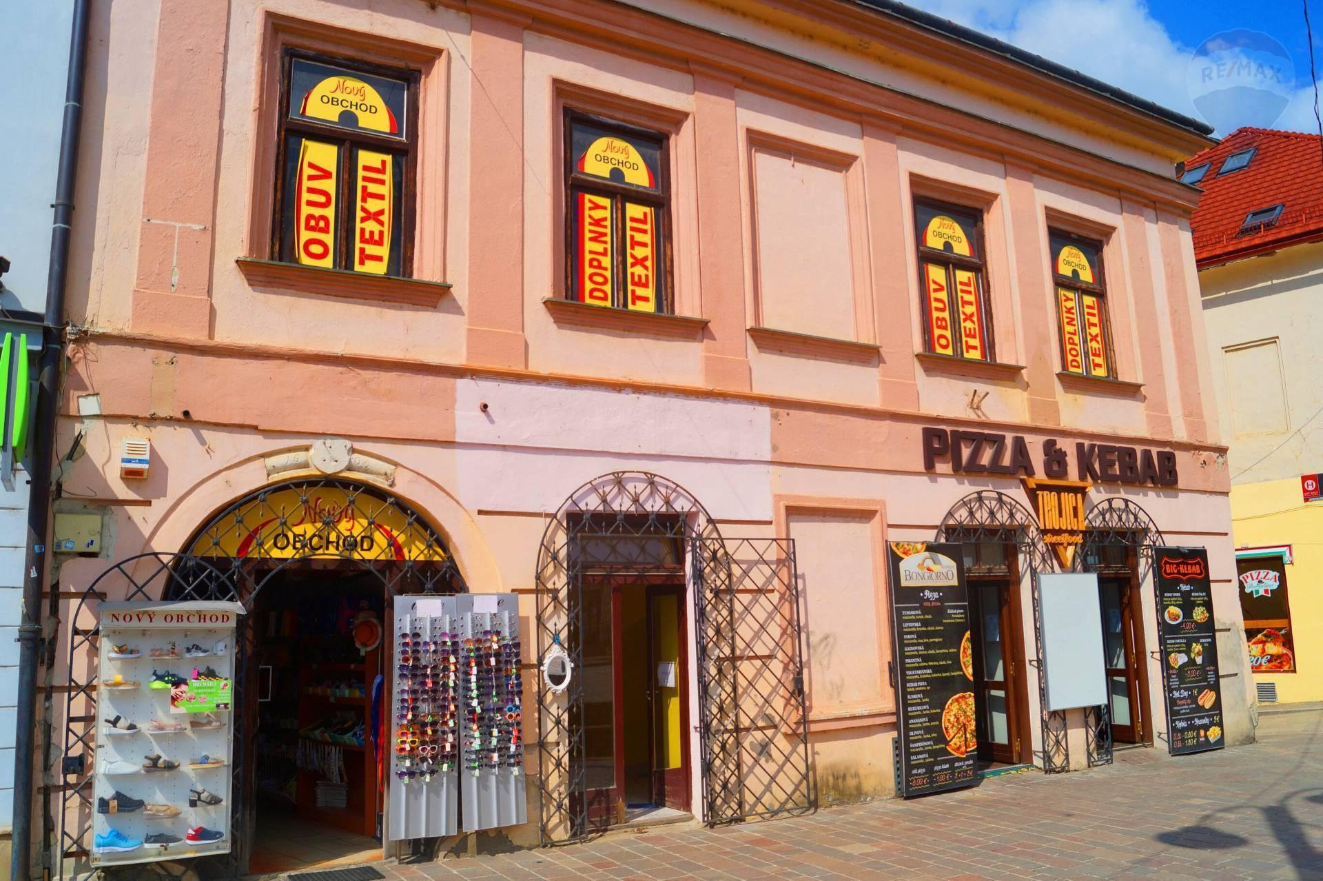 Obchodný priestor na prenájom, Hlavná ulica, Prešov