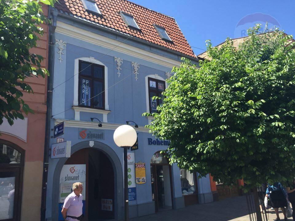 Ubytovacie priestory na prenájom, Hlavná ulica, Prešov