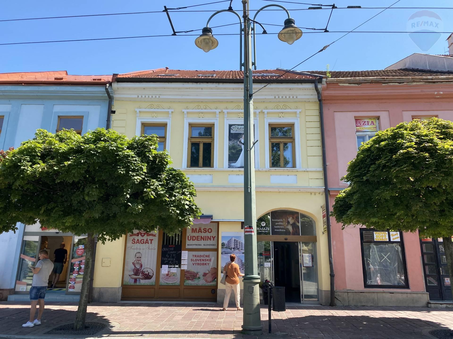 Komerčné priestory na prenájom, Hlavná ulica, Prešov