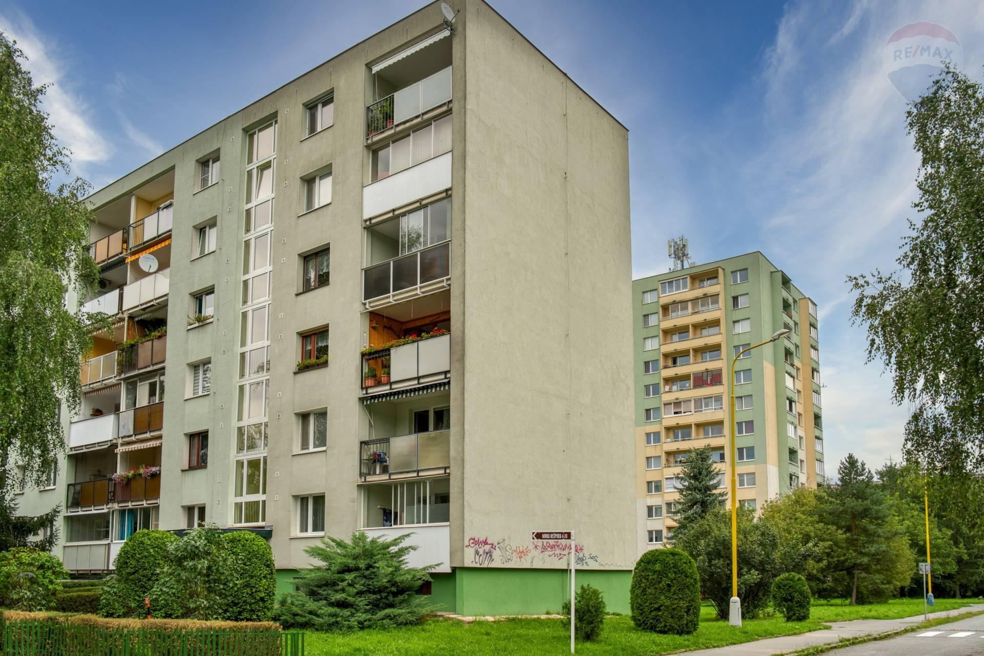 3 izbový byt na predaj, ulica Mirka Nešpora, Sídlisko III, Prešov