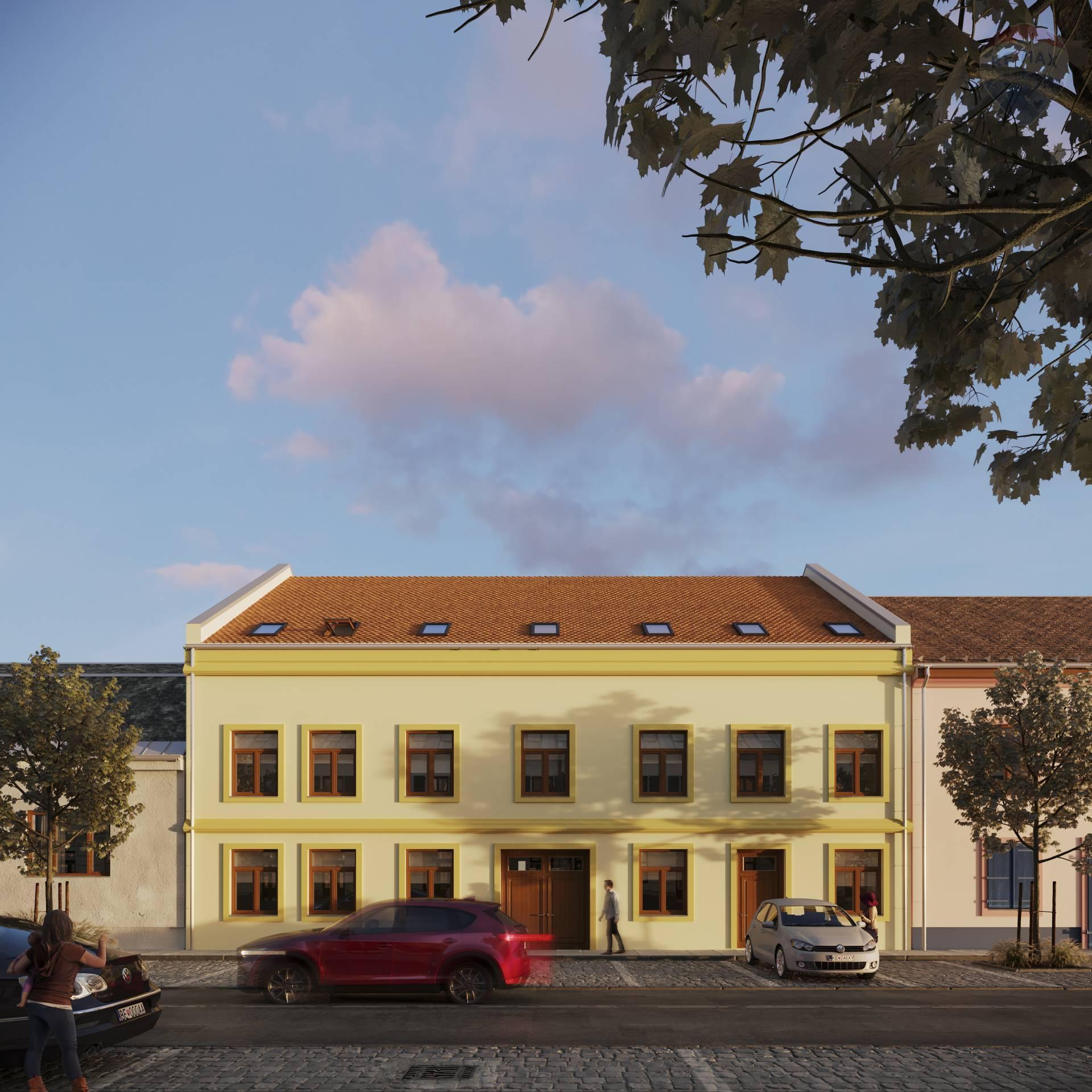 Obchodný priestor na predaj, novostavba, projekt Rezidencia Pod Hradom