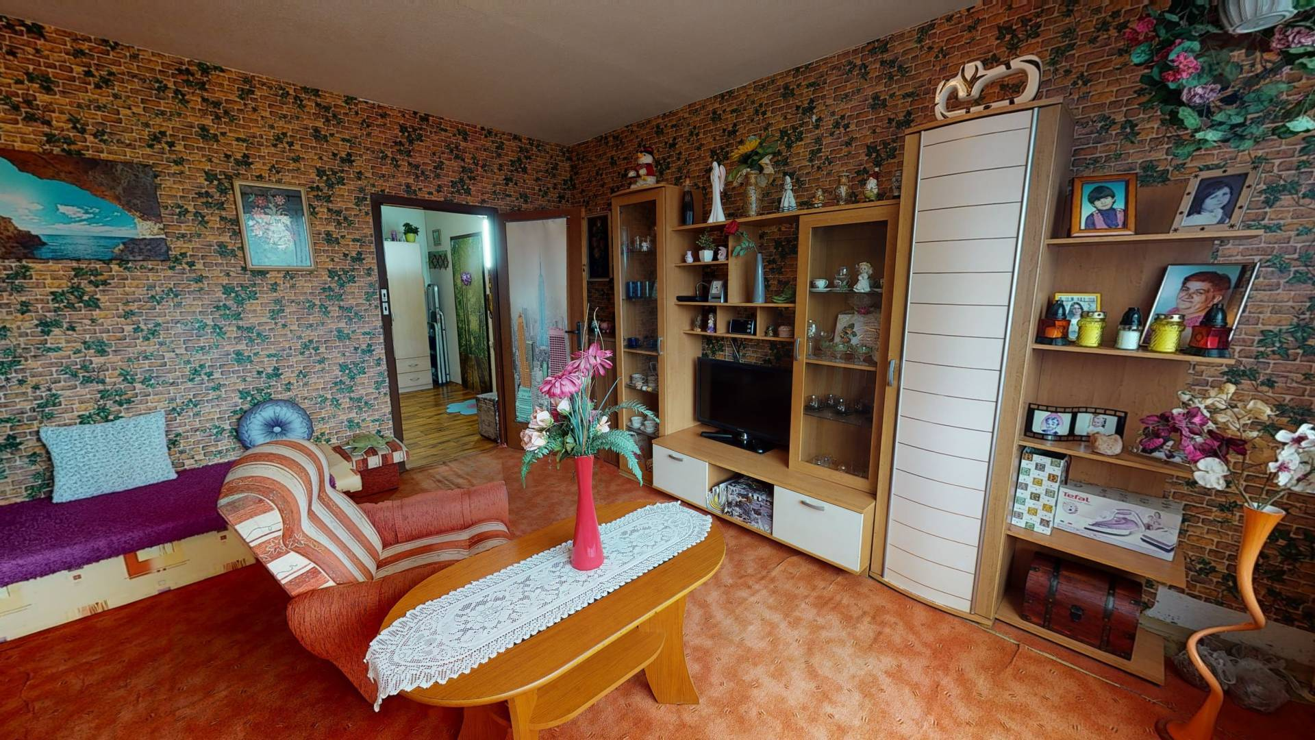 Predaj bytu (3 izbový) 61 m2, Košice - Sídlisko KVP - 3 izbový byt na predaj, Košice