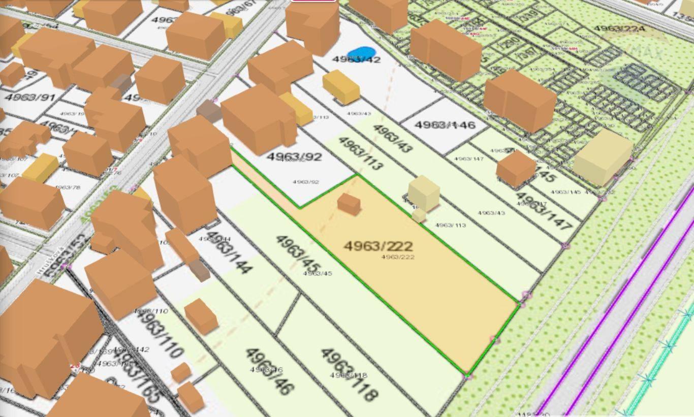 Predaj, stavebný pozemok 1.707 m2, Hrušková ul., Rača