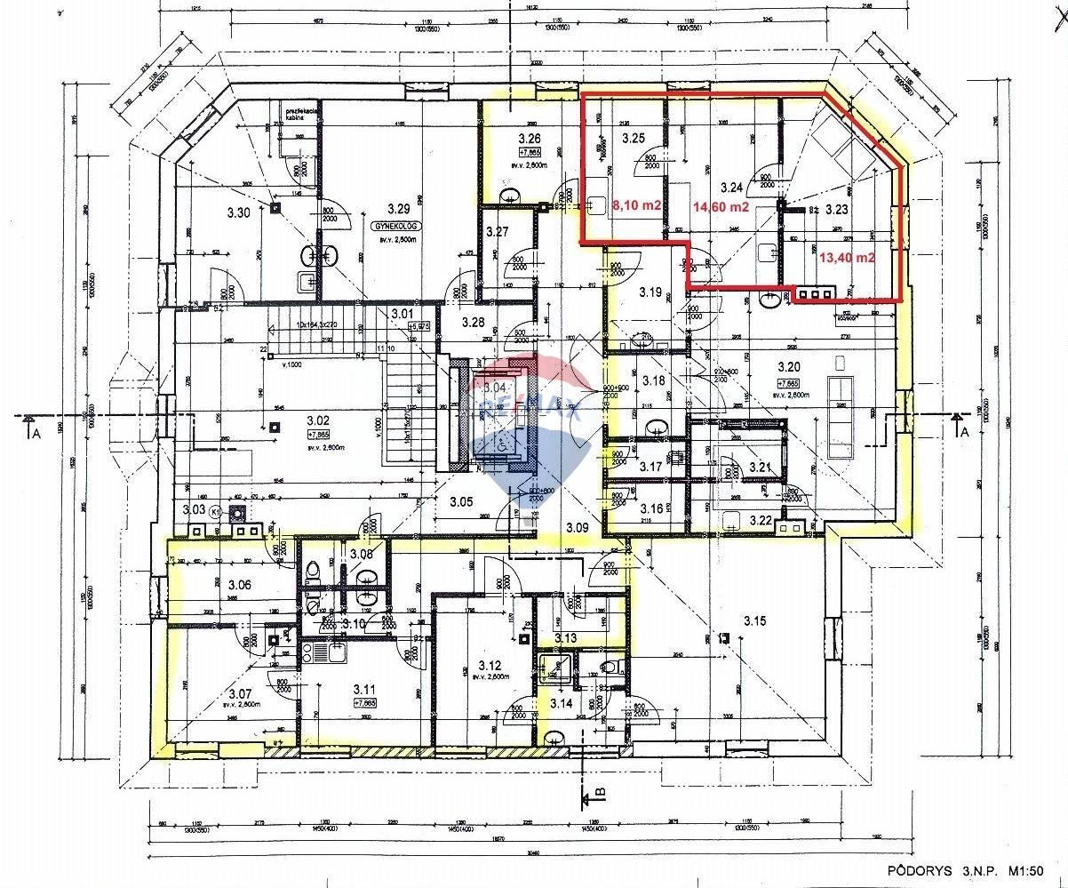 Prenájom komerčného priestoru 36 m2, Piešťany -