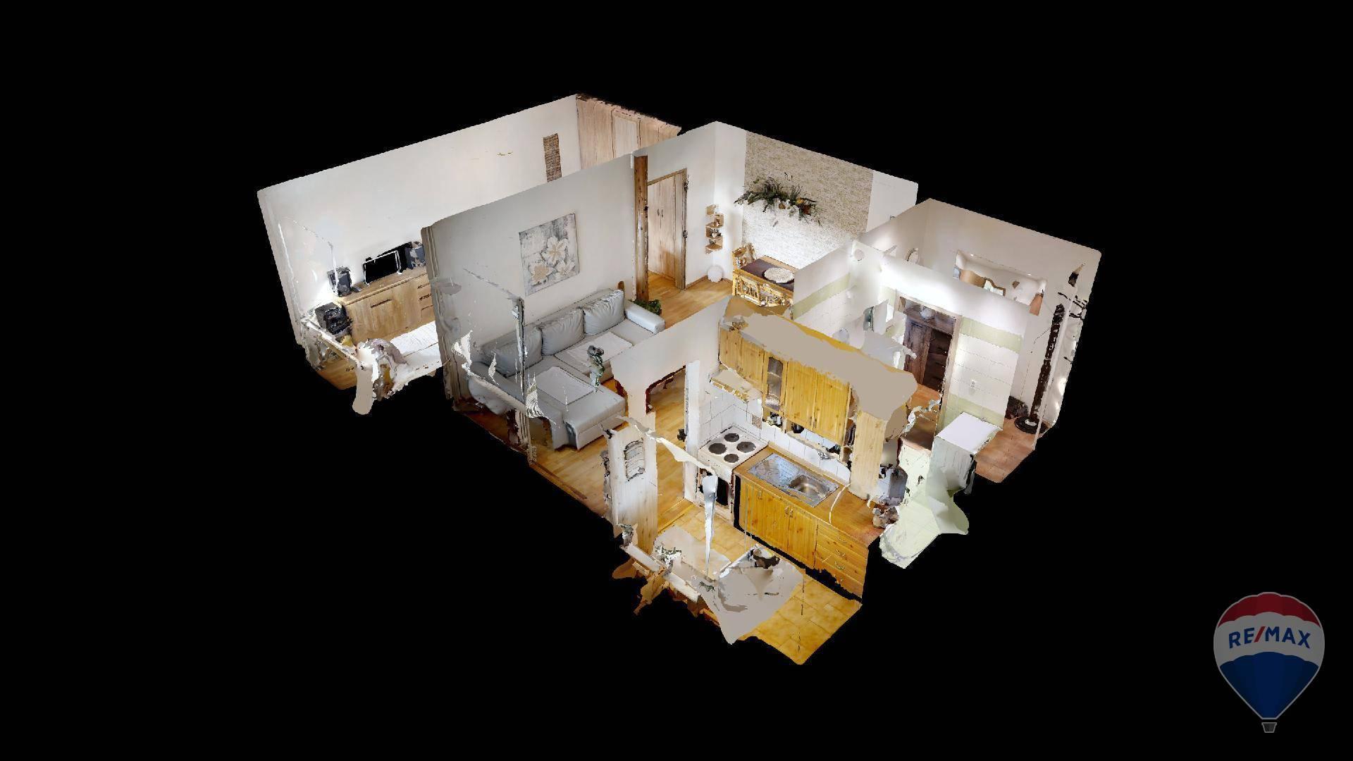 Predaj bytu (2 izbový) 45 m2, Trenčín