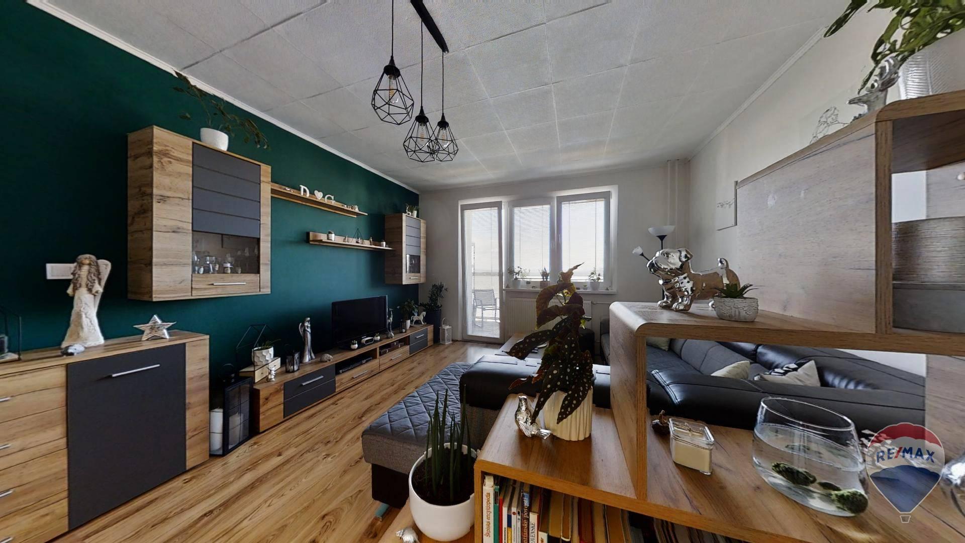 2 izbový byt 56 m2 s balkónom na predaj v Dubnici nad váhom