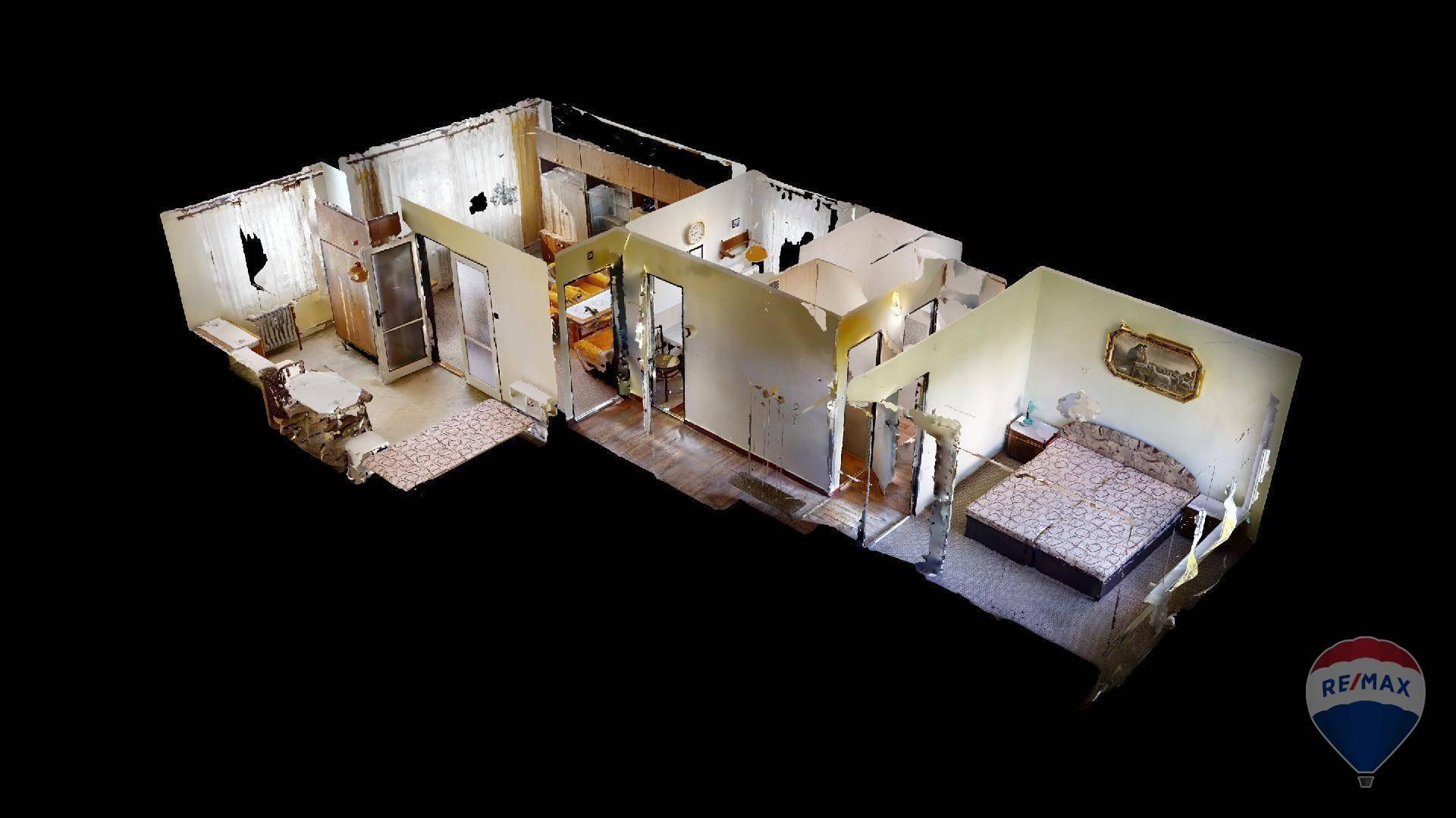 Predaj bytu (3 izbový) 55 m2, Trenčín