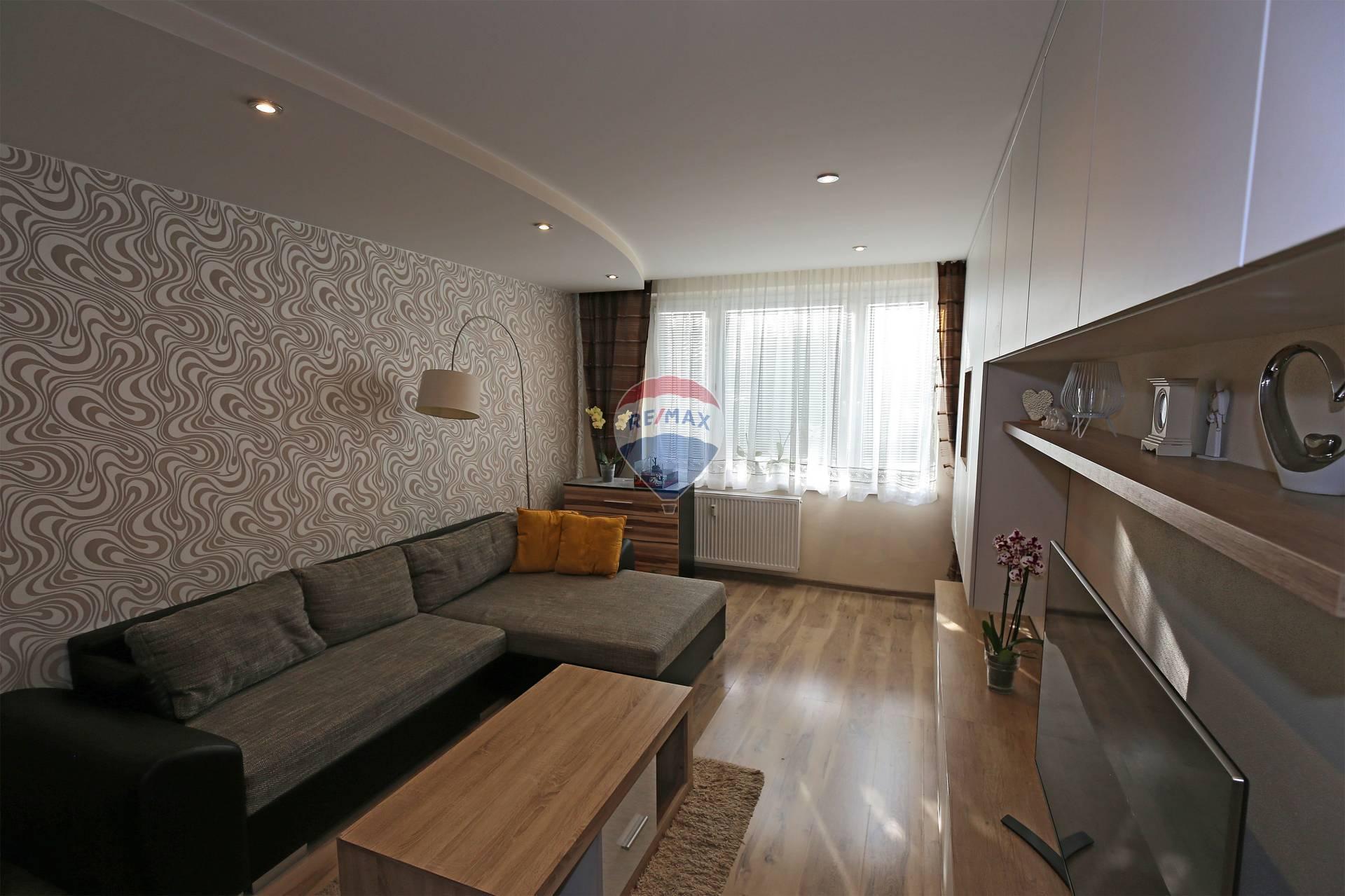 Predaj bytu (3 izbový) 74 m2, Bánovce nad Bebravou - Predaj zariadeného 3-izbového bytu Bánovce nad Bebravou