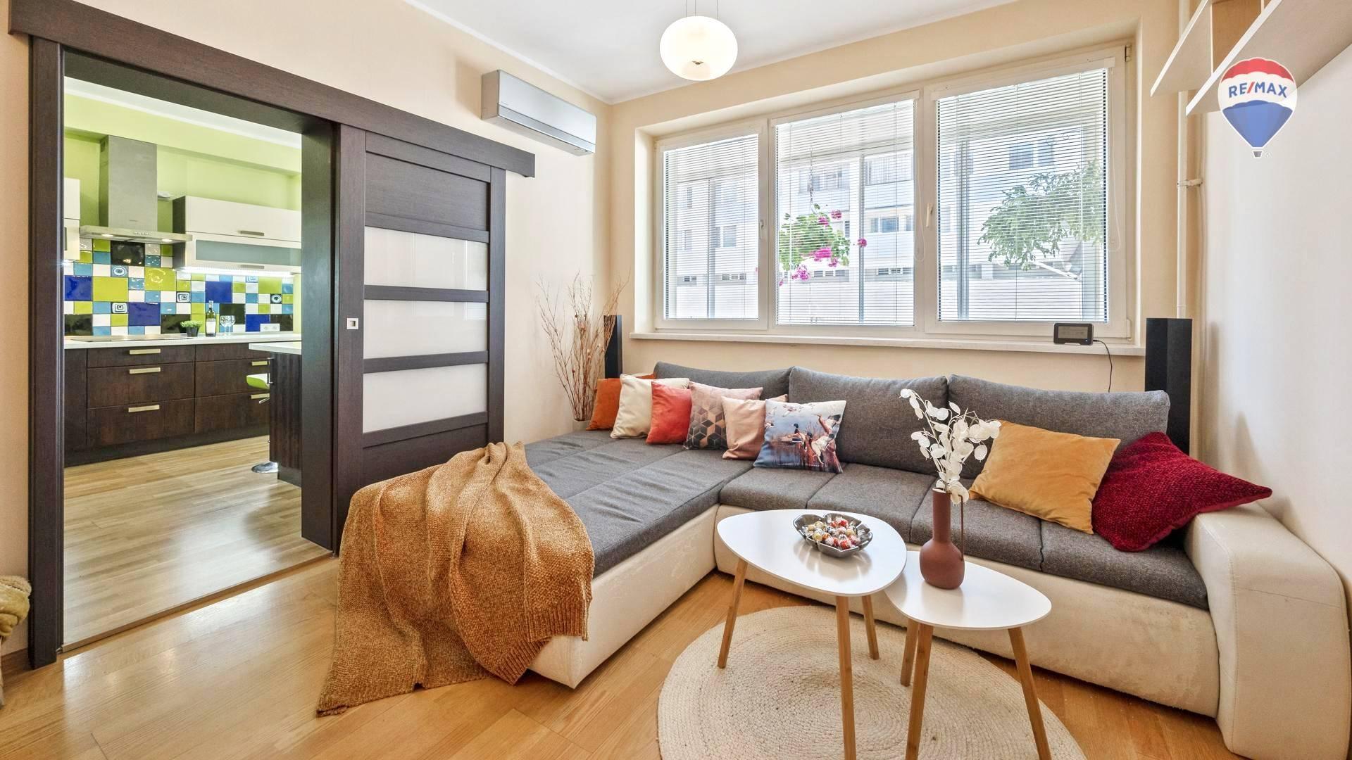 Plne klimatizovaný 4izbový byt v Karlovej Vsi, Hodálova ul.