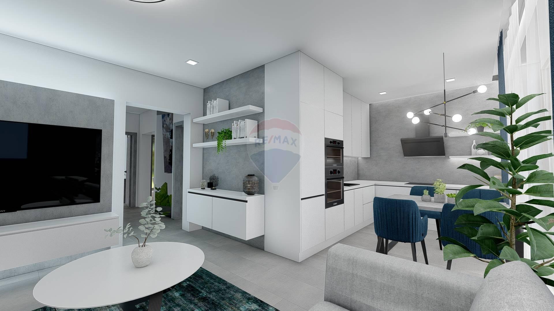 Predaj bytu (4 izbový) 88 m2, Veličná -