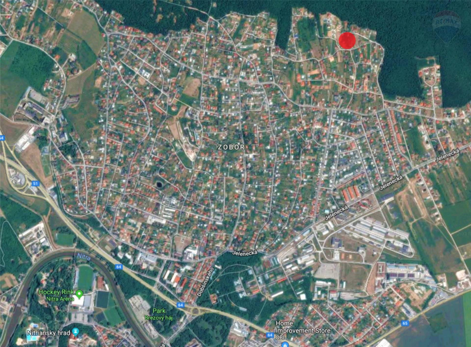 Predaj pozemku 1279 m2, Nitra -